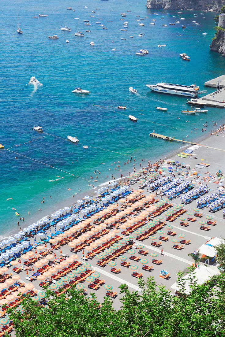 When you fly to Naples (on Air France), these are the beaches you need to visit.