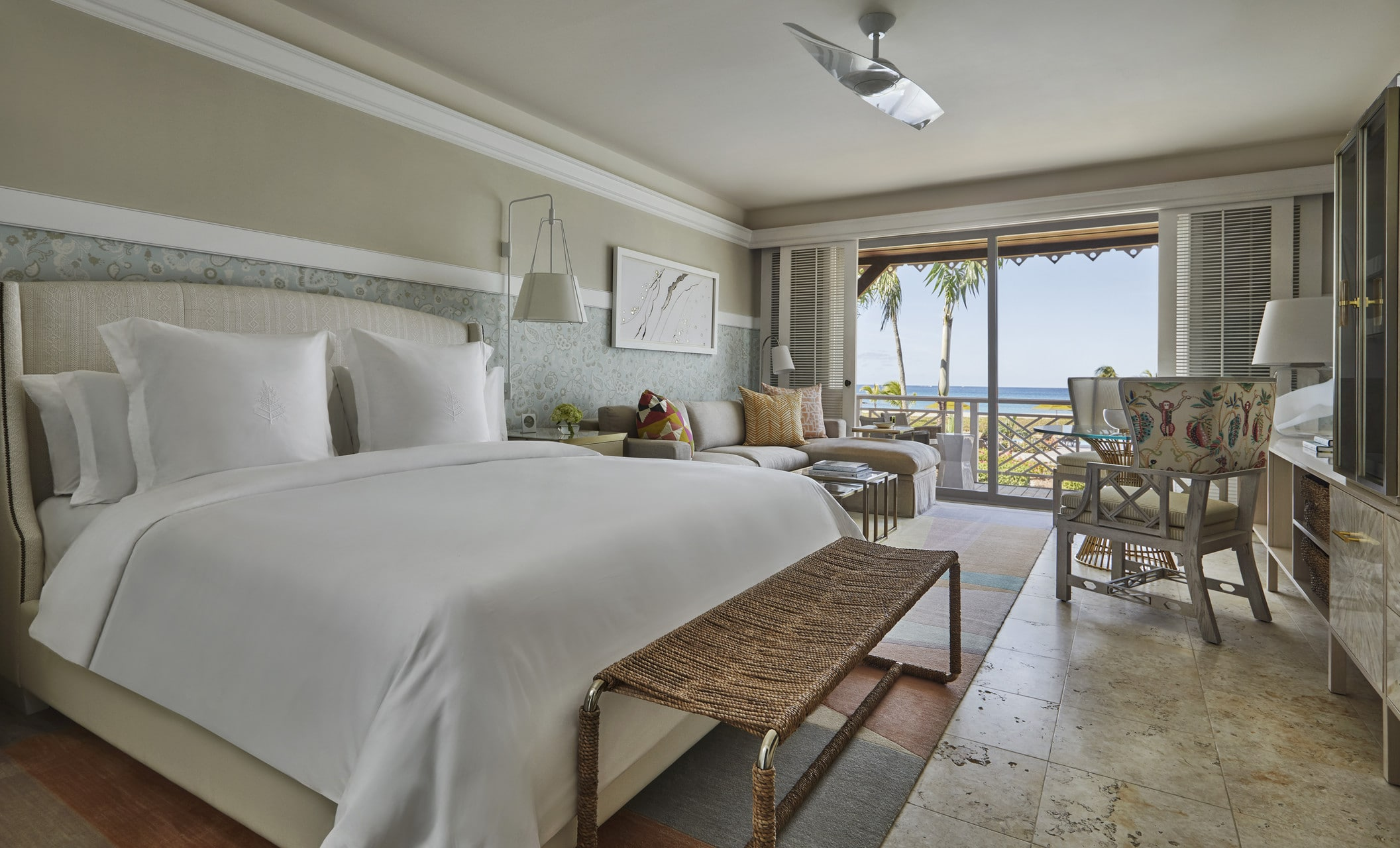 Four Seasons Nevis guest room