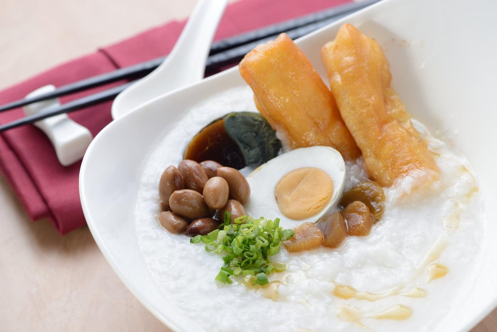 Best Hong Kong food - congee