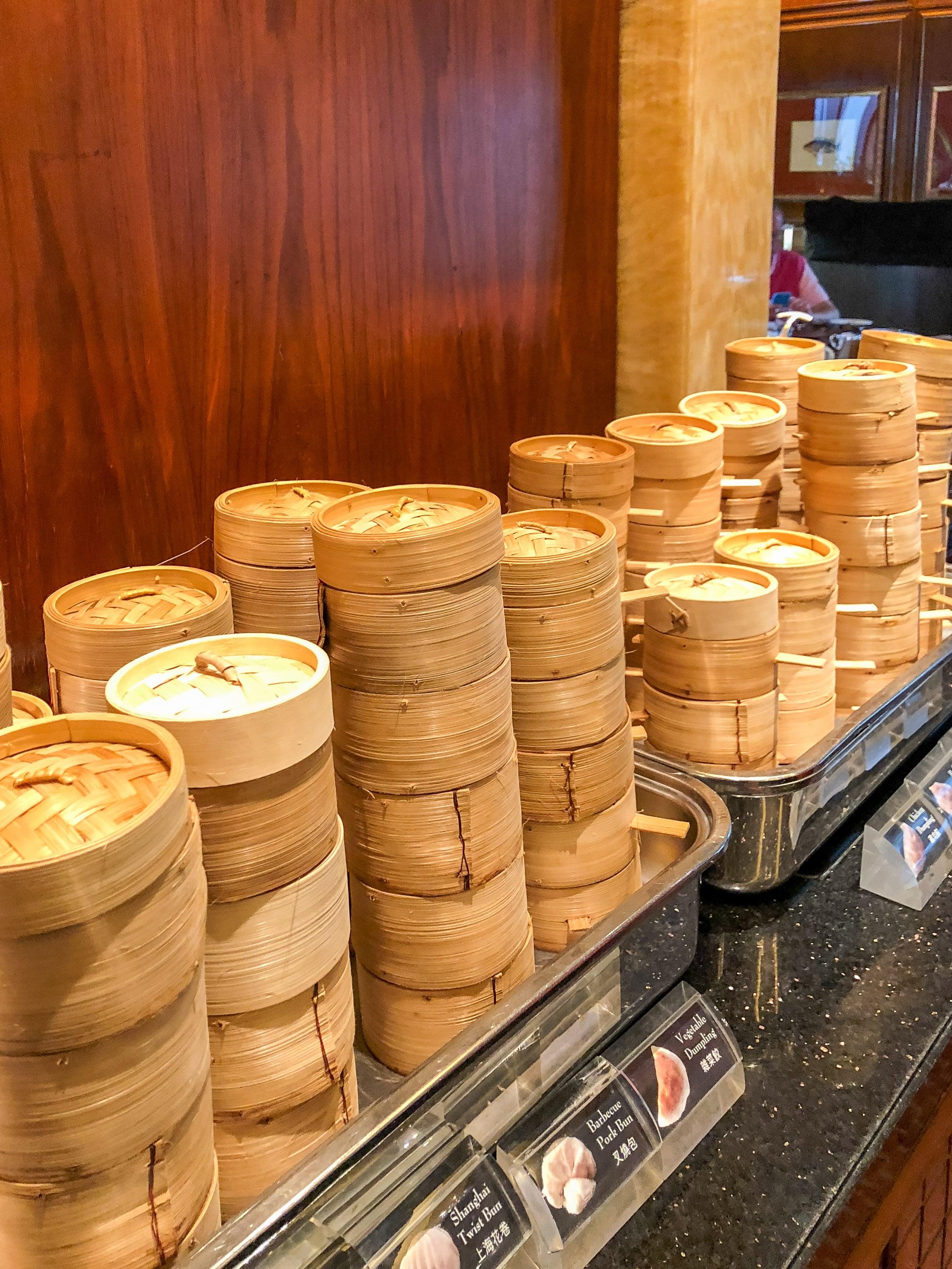dim sum for breakfast in Hong Kong