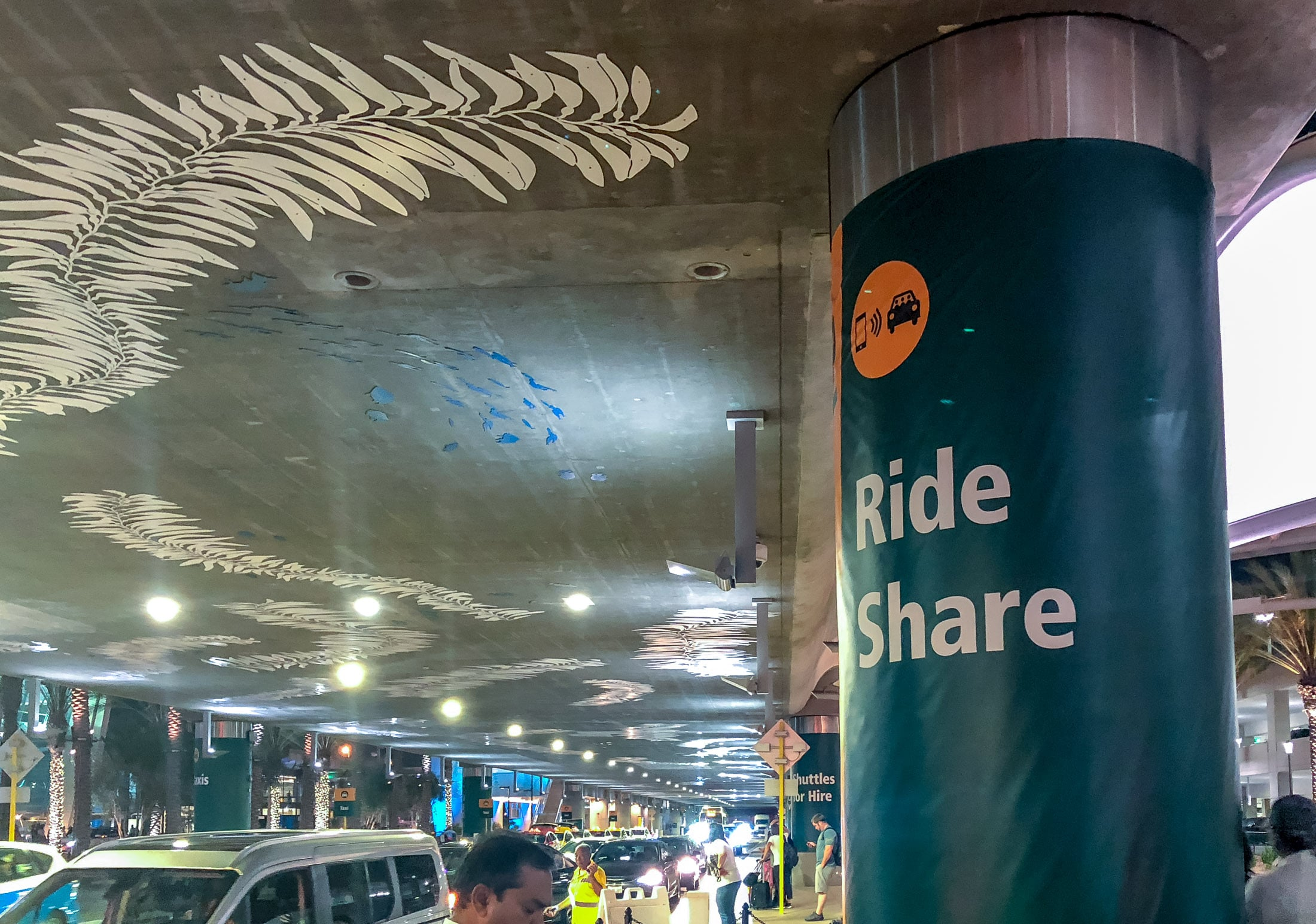 San Diego Airport Transportation: Ride Share (Uber, Lyft, etc.)