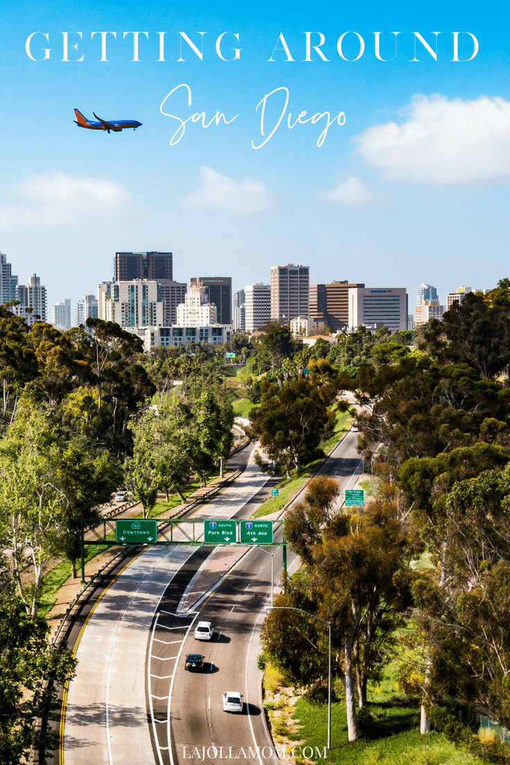 Visiting San Diego? Here's how to get around town using rental cars, ridesharing apps, public transportation, sightseeing tours and more.