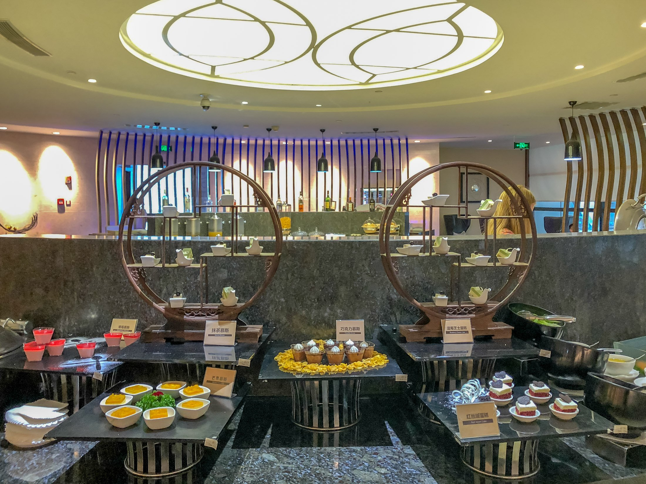 Review of Air China first class lounge Shanghai Pudong Airport