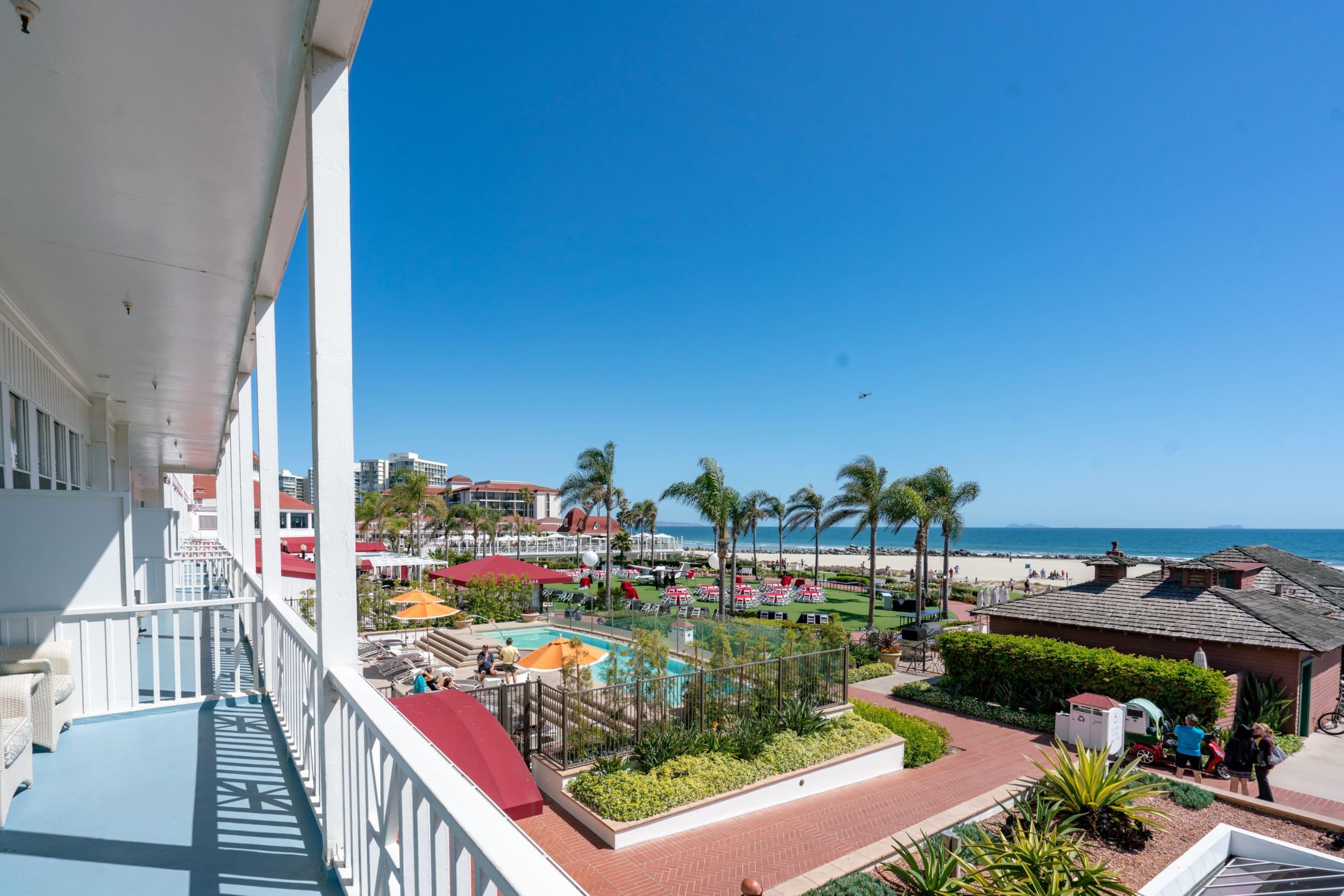 Hotel Del Coronado Victorian ocean view