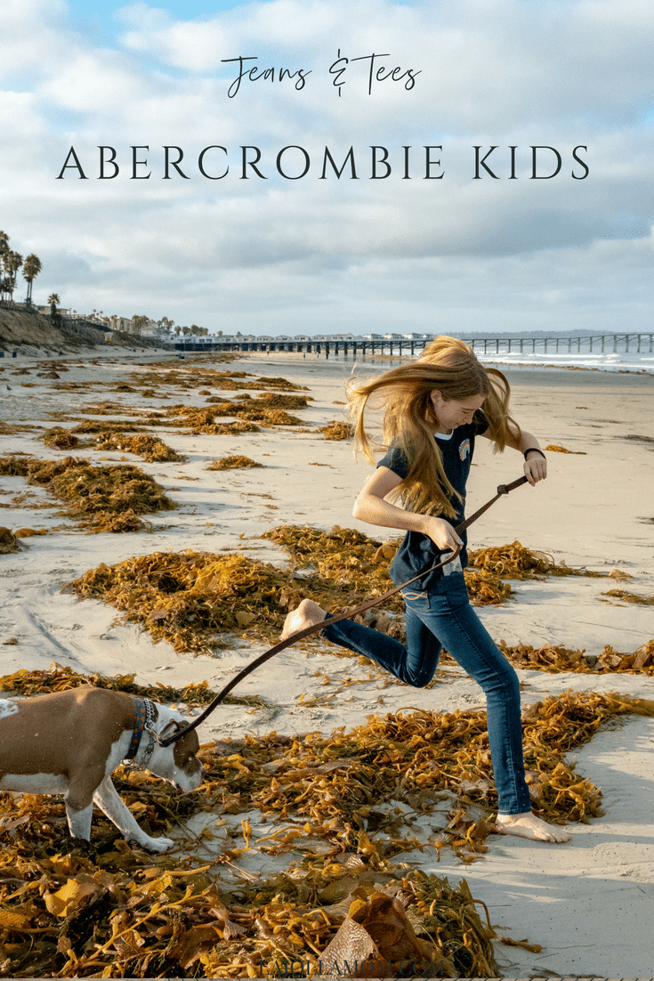 Abercrombie Kids jeans and tees for back to school