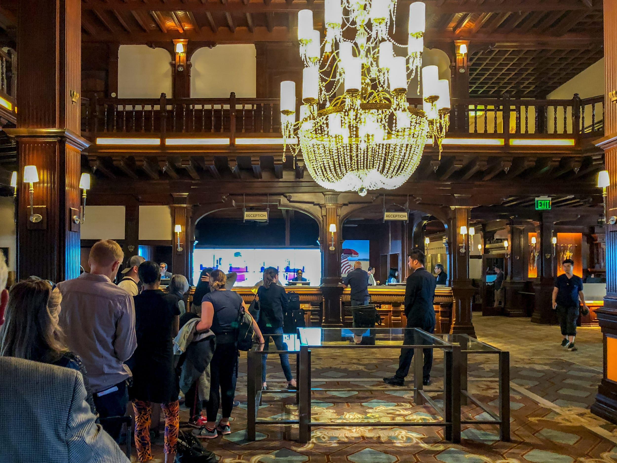 Hotel Del Coronado check-out