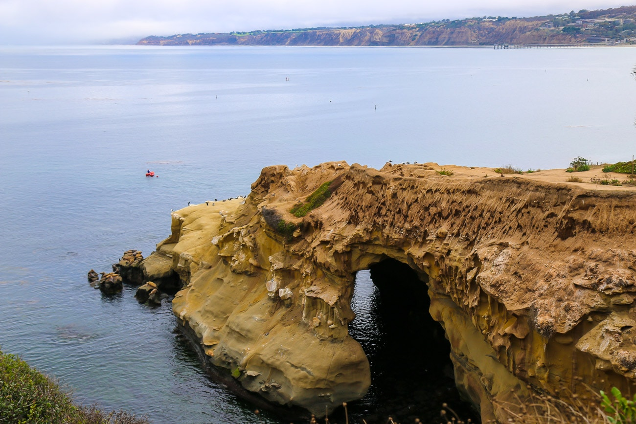 Free things to do in La Jolla: Check out Clam's Cave