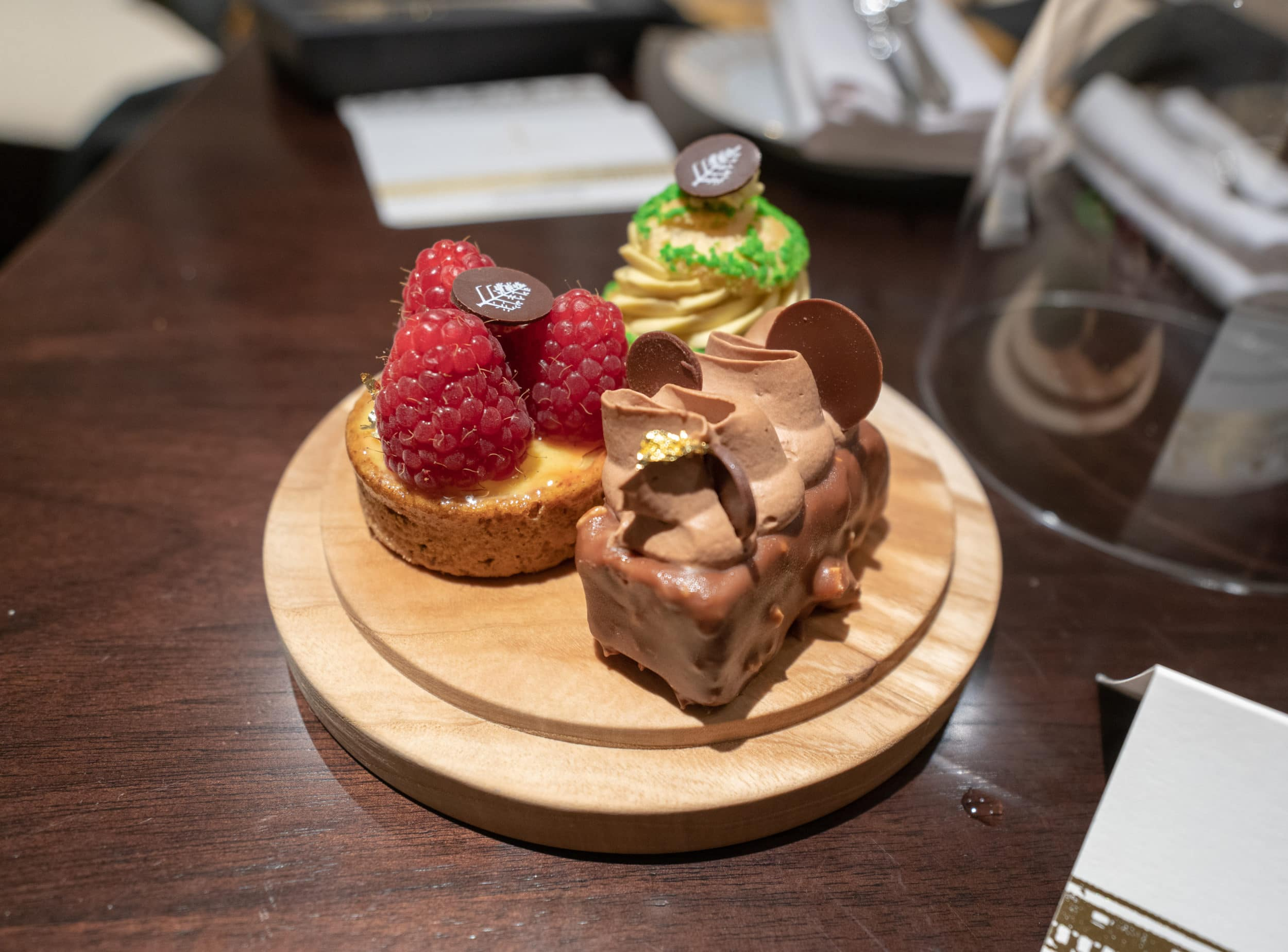 In-room desserts at Four Seasons London at Ten Trinity Square
