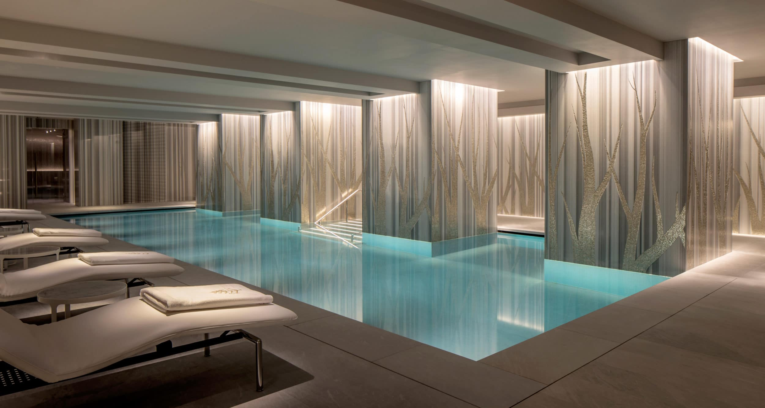 The pool at Four Seasons London at Ten Trinity Square