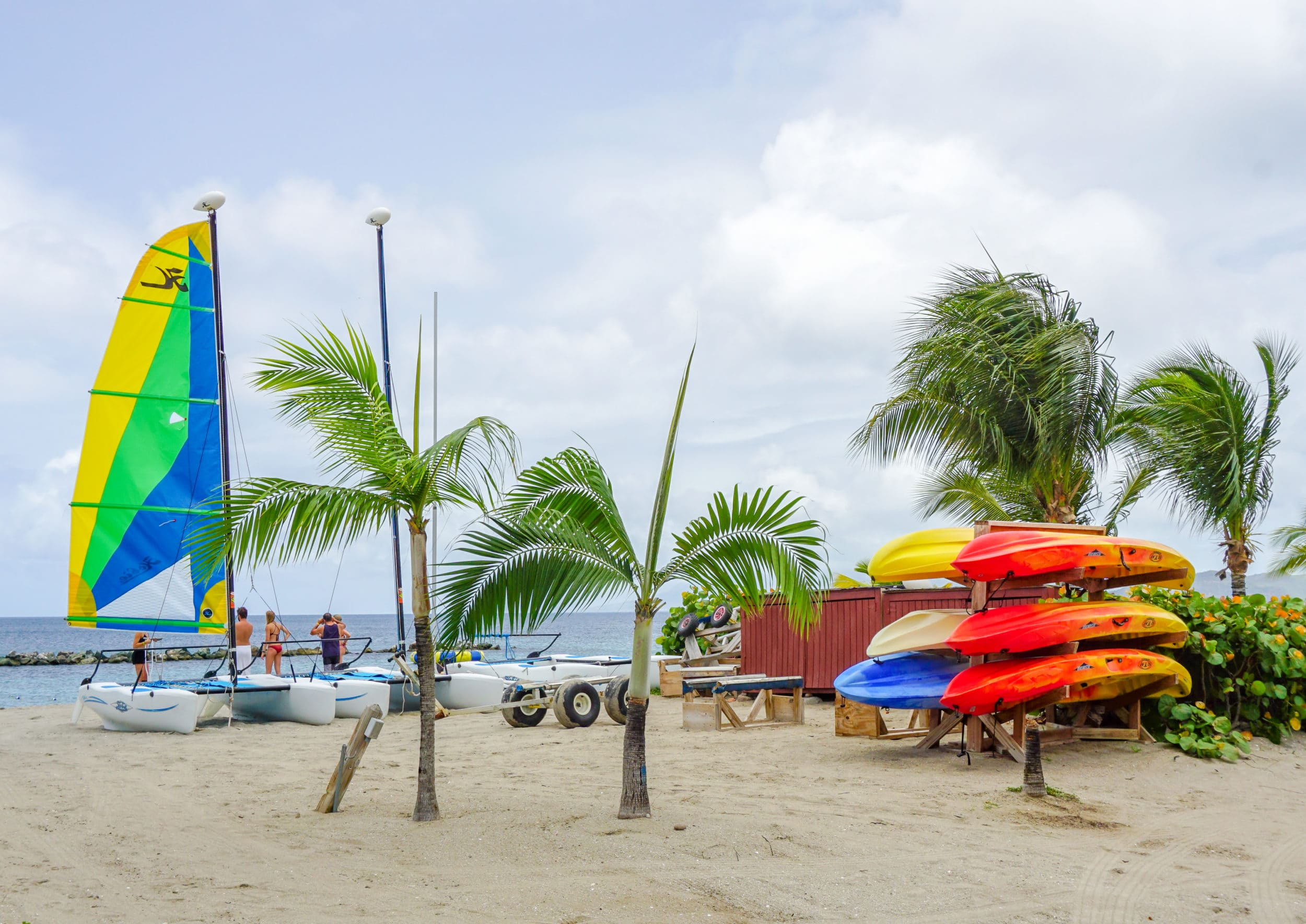Kayaks and more at Four Seasons Nevis