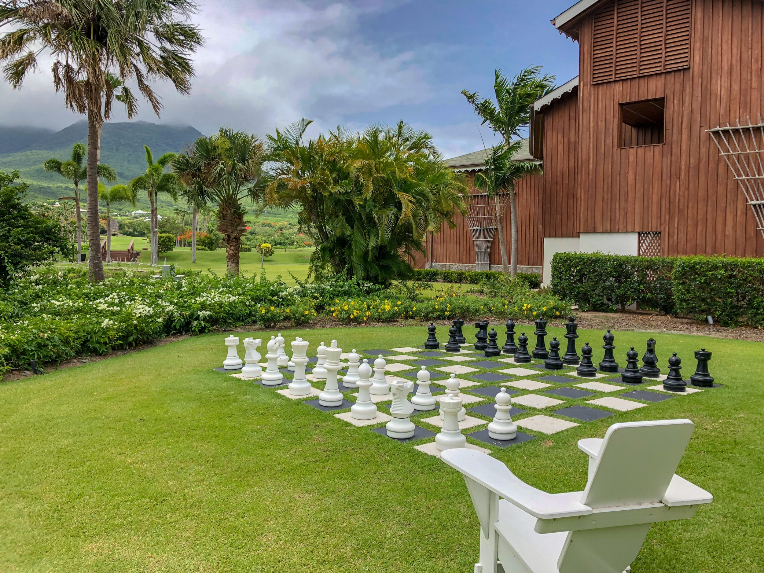 Outdoor games at Four Seasons Nevis
