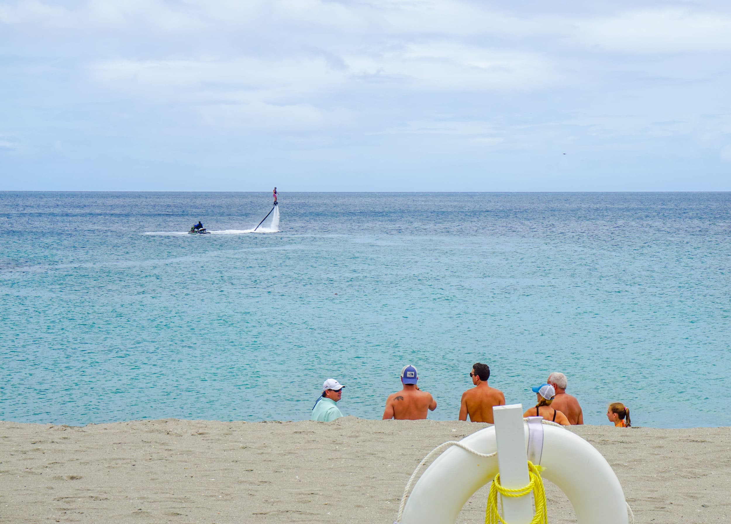 Water sports at Four Seasons Nevis