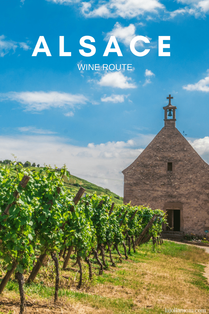 French wine regions: Explore the Alsace wine route