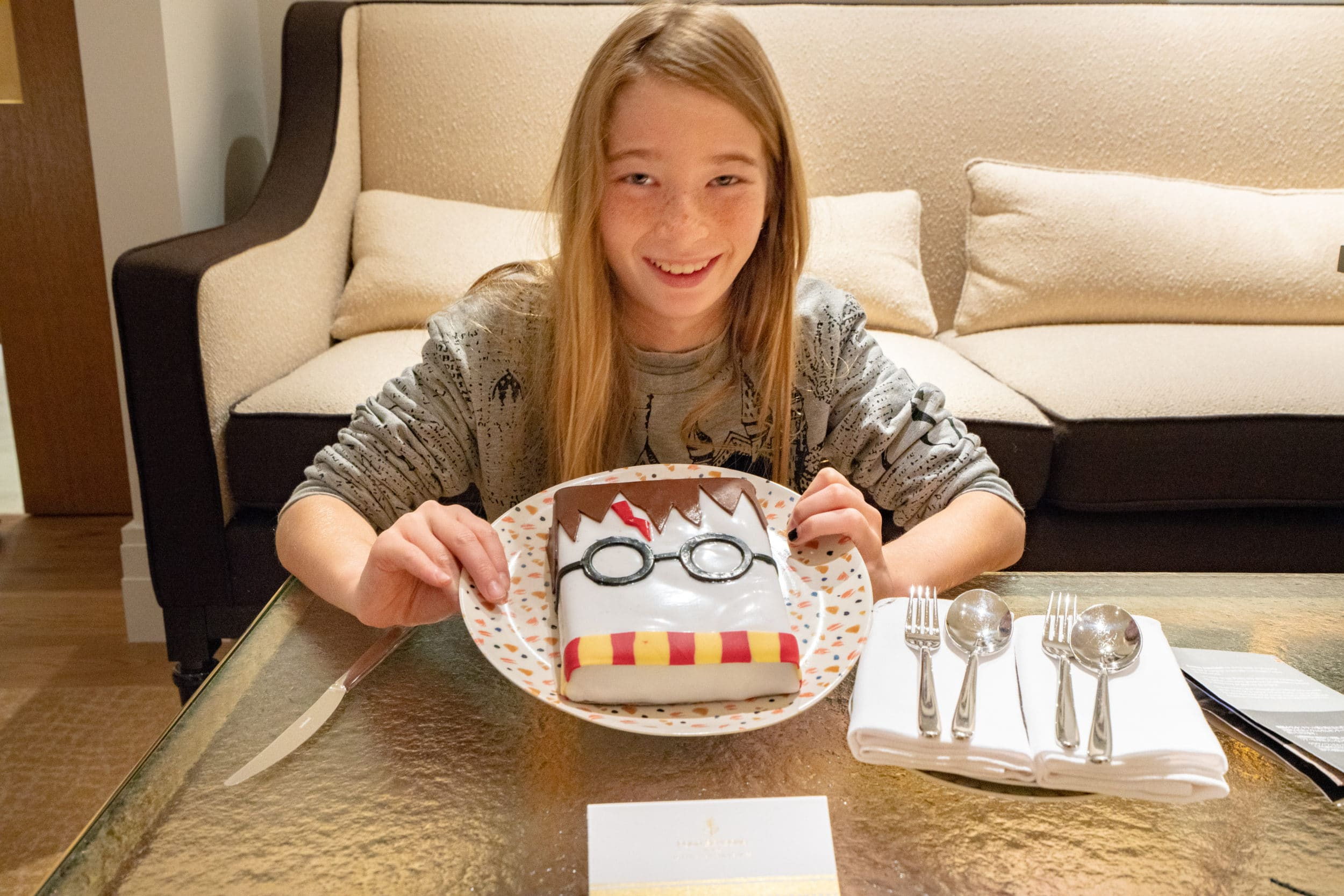 Harry Potter Cake at Four Seasons Hotel London at Ten Trinity Square
