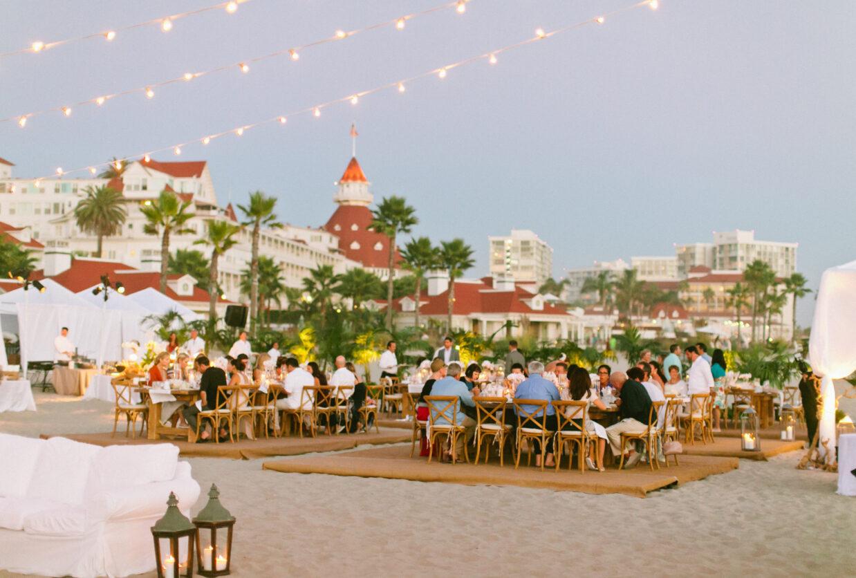 hotel del coronado beach events