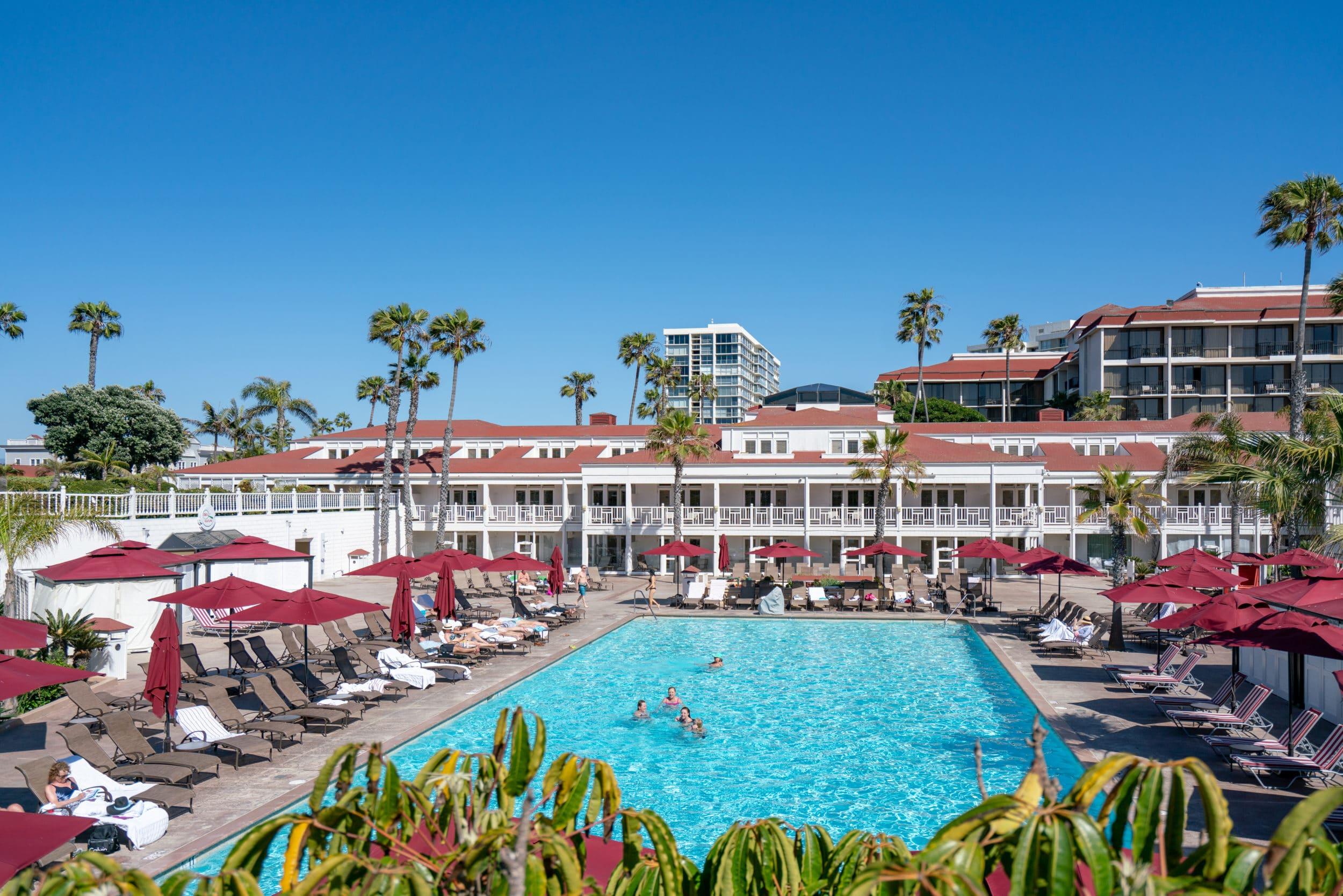 Cabana rooms at Hotel Del Coronado