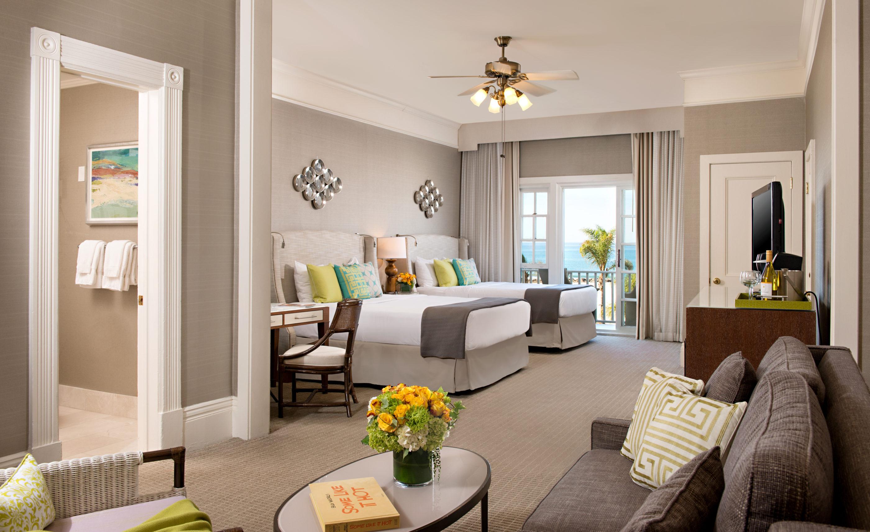 Ocean View Victorian Room at Hotel Del Coronado