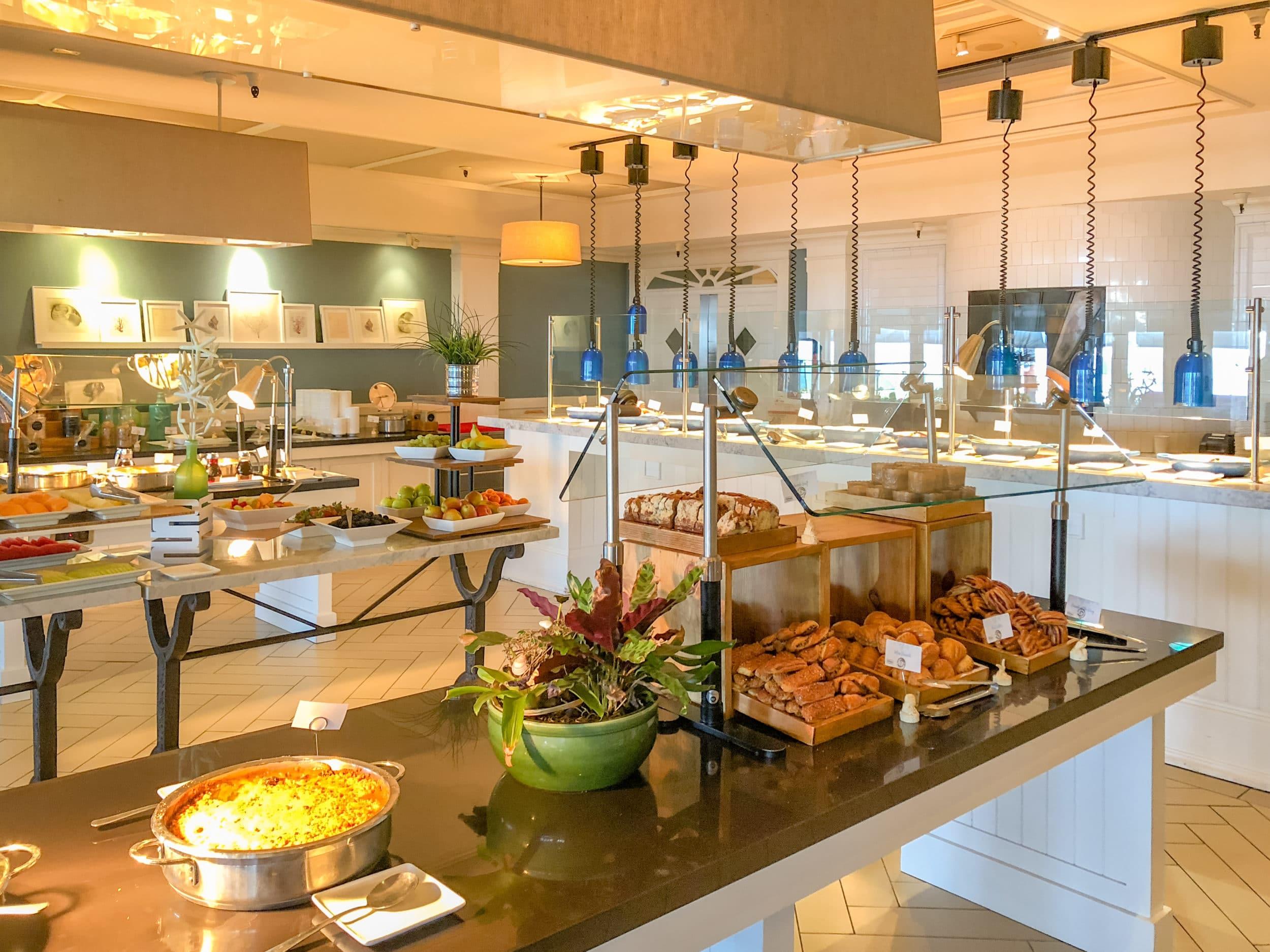 Breakfast buffet at Sheerwater