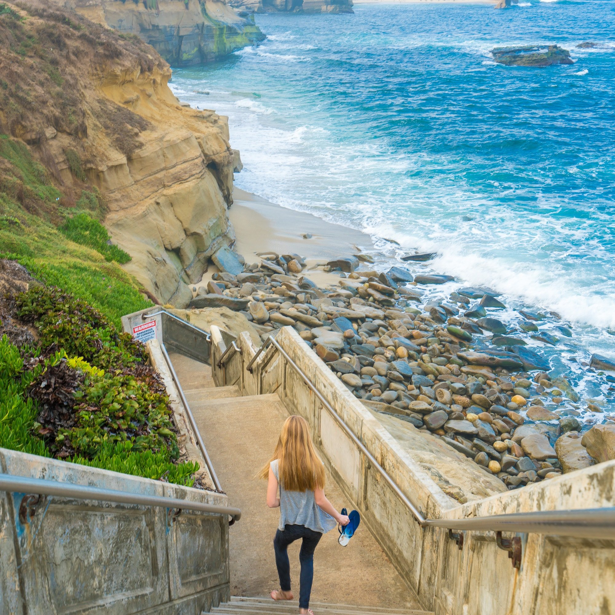 Free Things to Do in La Jolla: Shell Beach