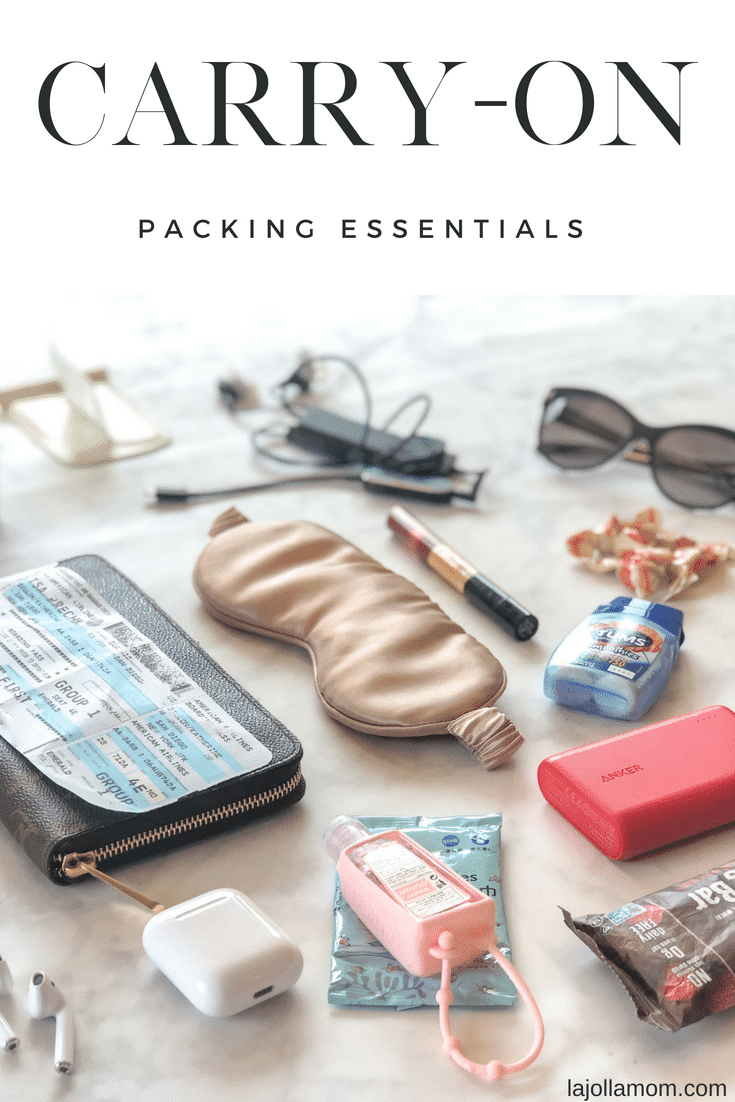 Plane or car, these travel accessories are always in my carry-on.