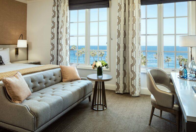 La Valencia hotel la jolla classic king ocean room