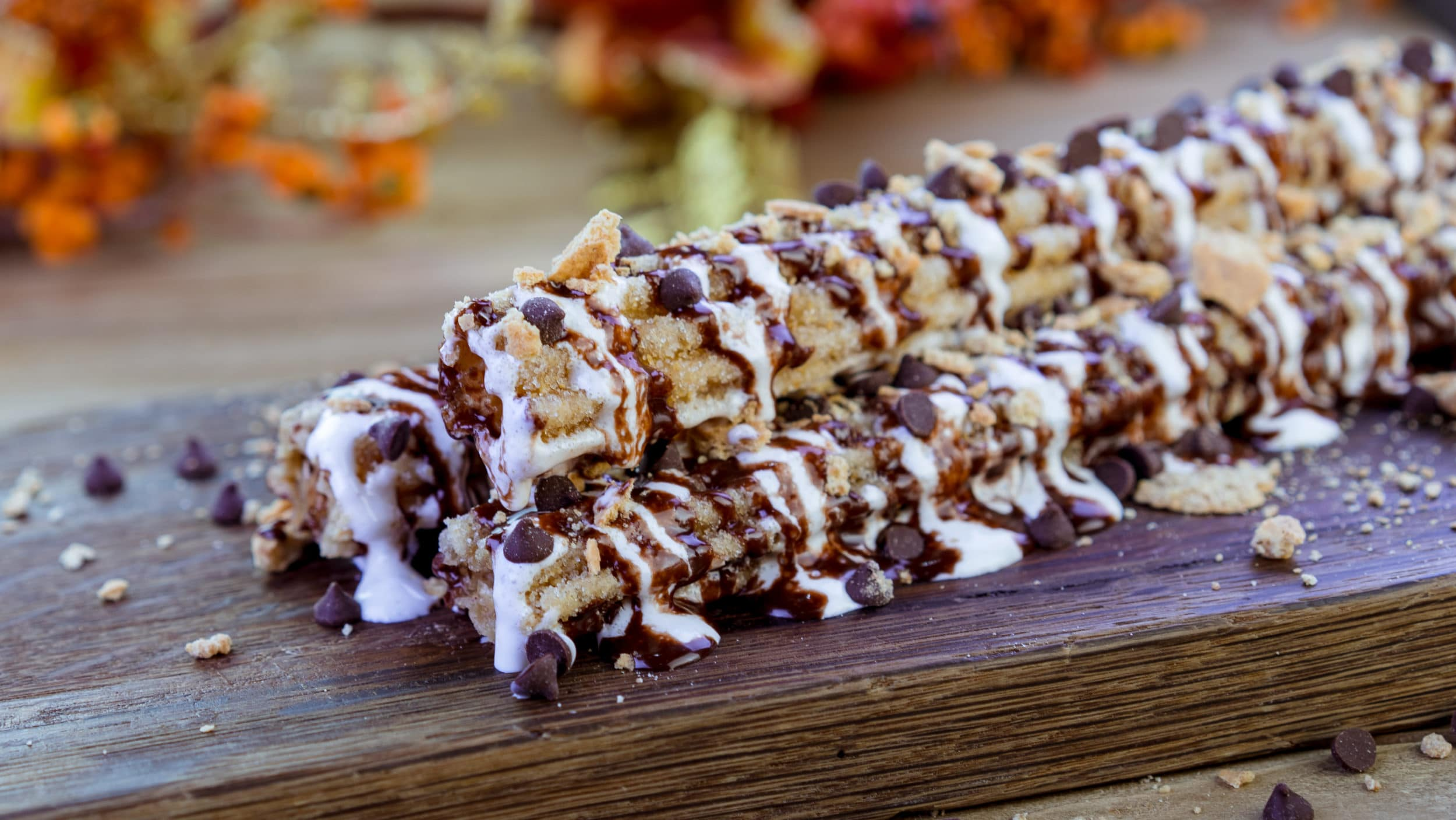 Disneyland Halloween food: S'mores churros