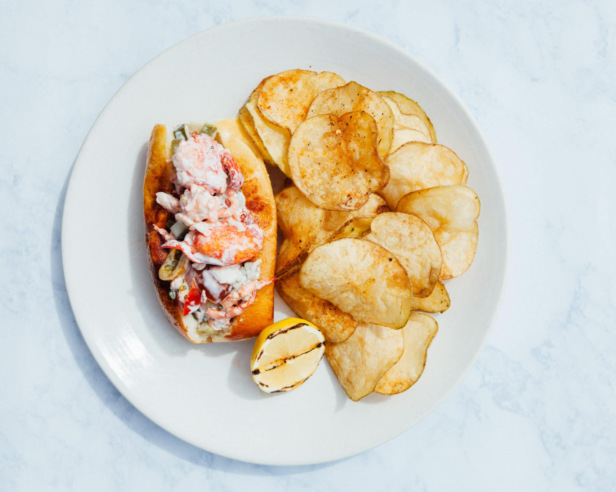Herringbone La Jolla: Lobster Roll