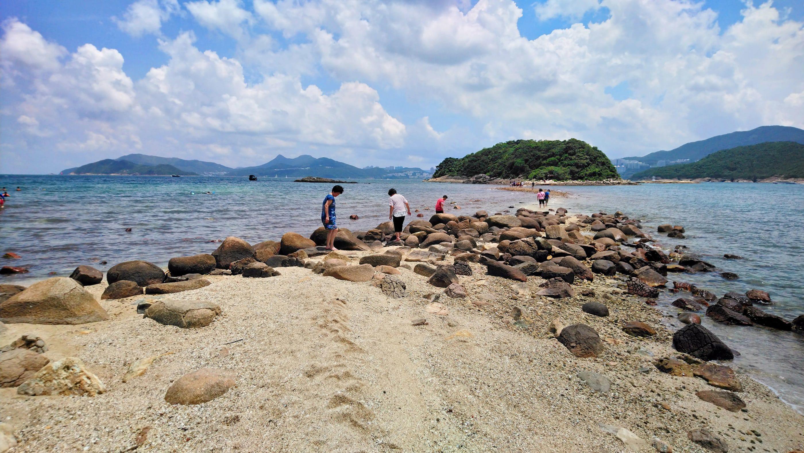 Sharp Island Hong Kong Geopark with kids