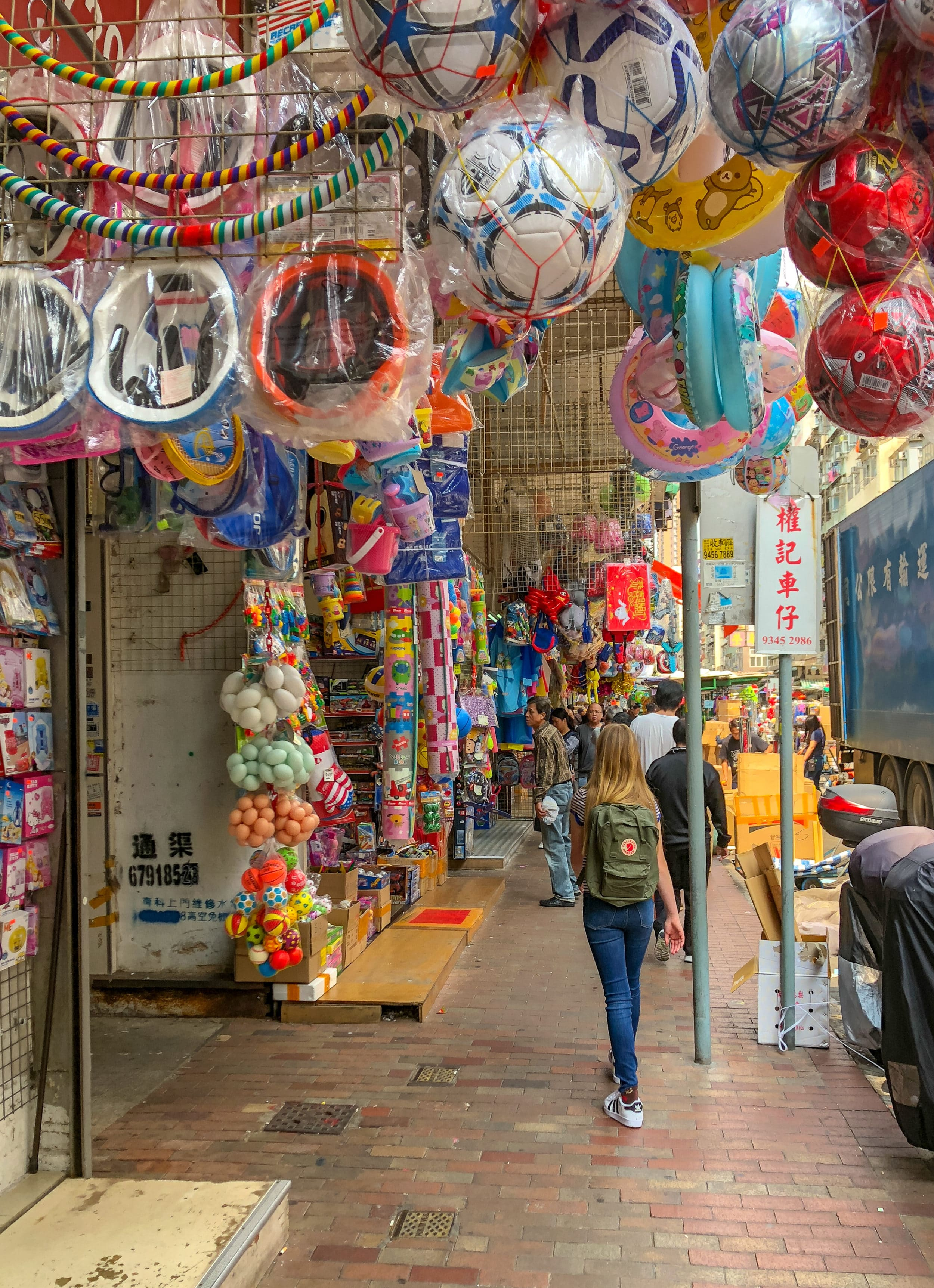 Hong Kong with kids: Shop a toy street