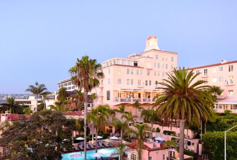 la valencia hotel la jolla location