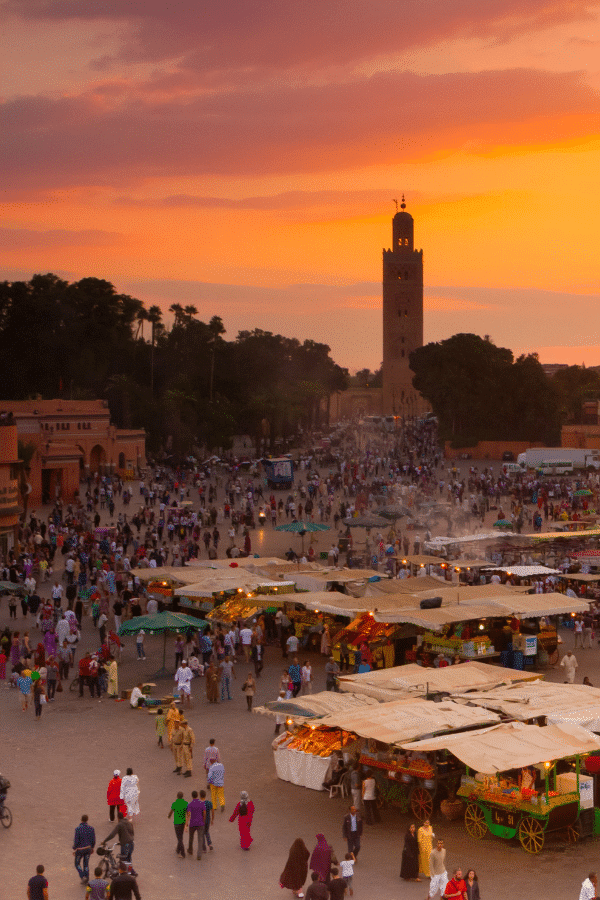 Shop the souks in Marrakech, a perfect Africa city break. Air France can take you there.