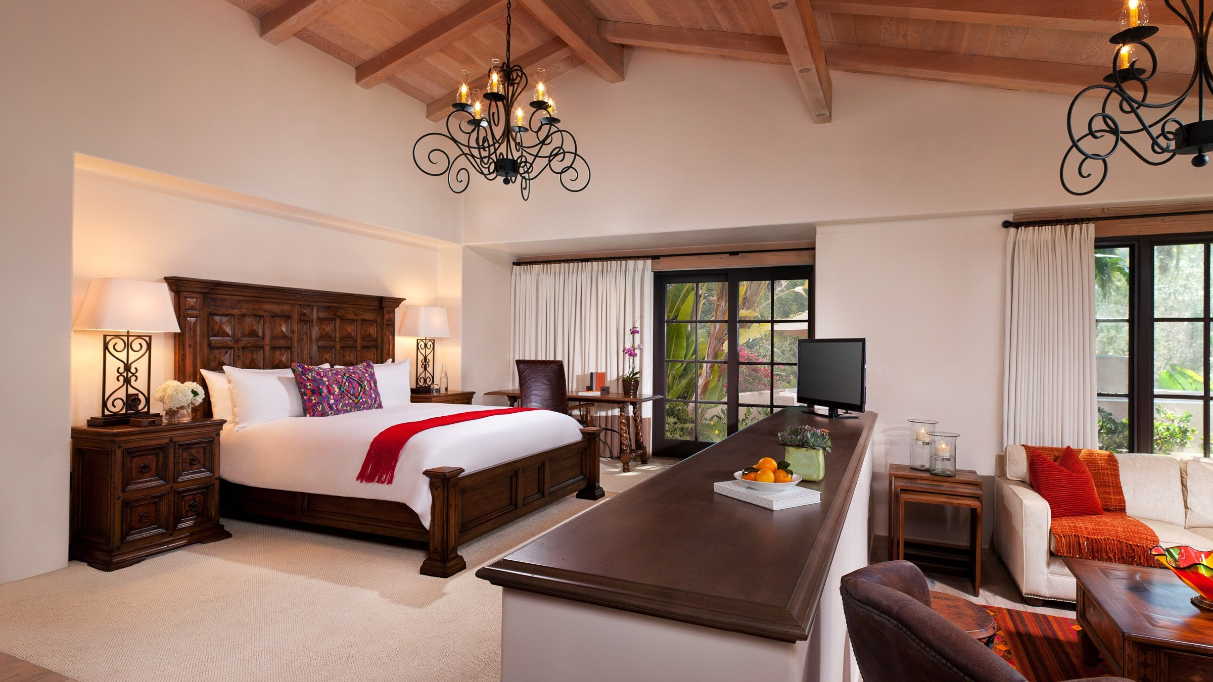 Olive Grove Suite at Rancho Valencia in San Diego