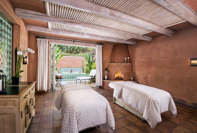 rancho valencia spa couples room