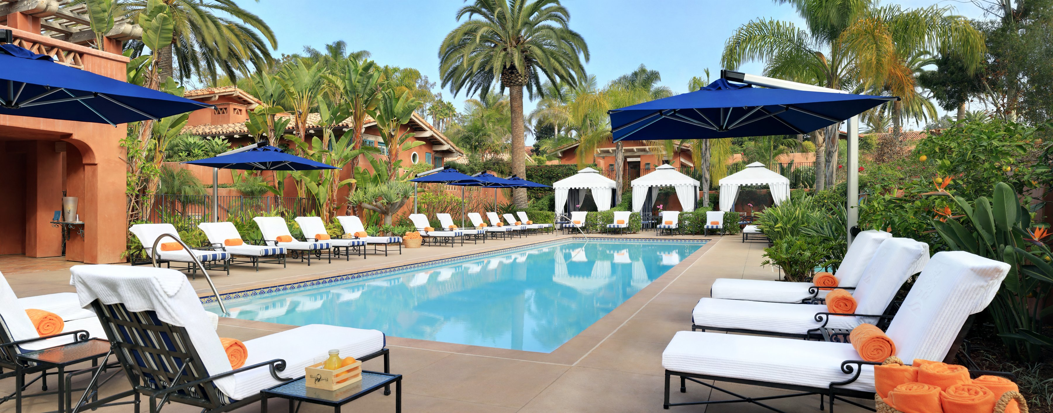 Rancho Valencia Spa Pool