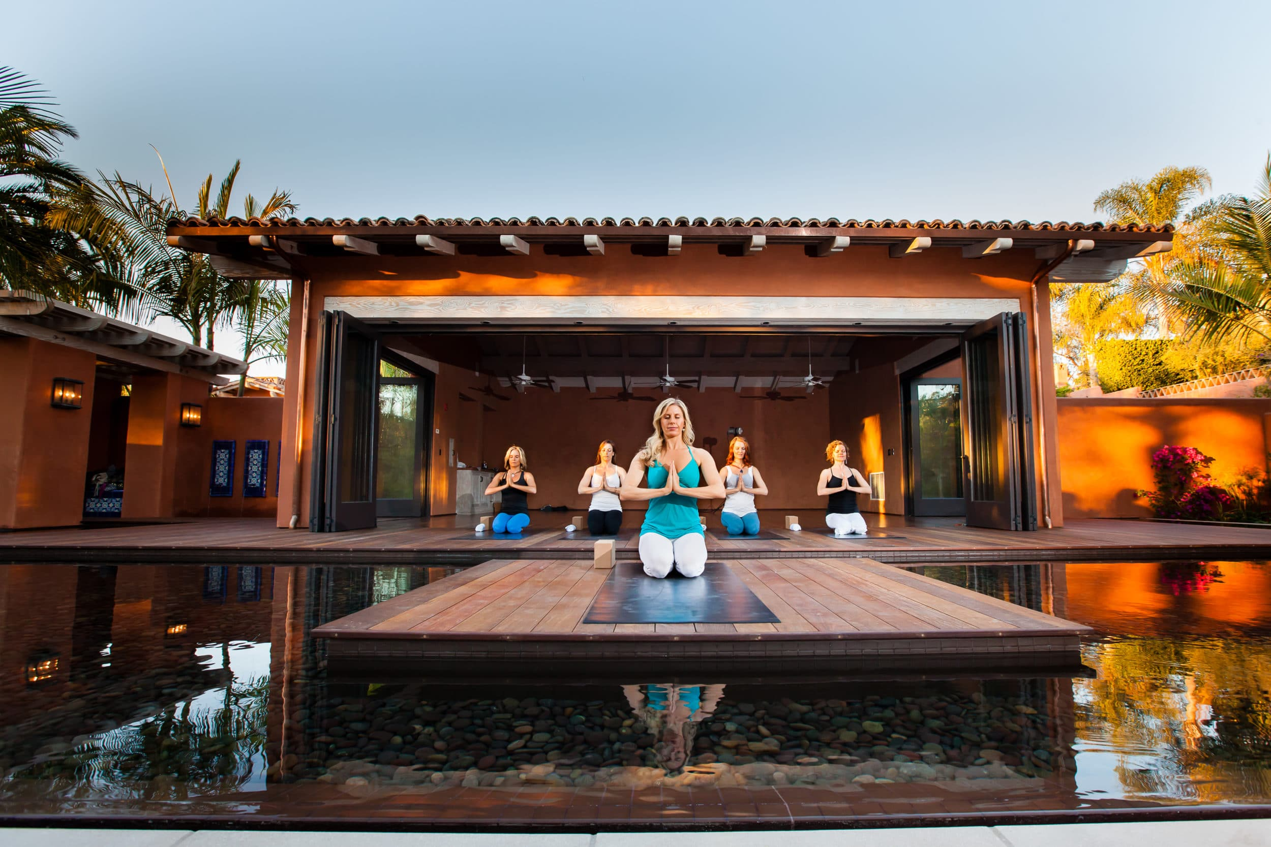 rancho valencia spa yoga