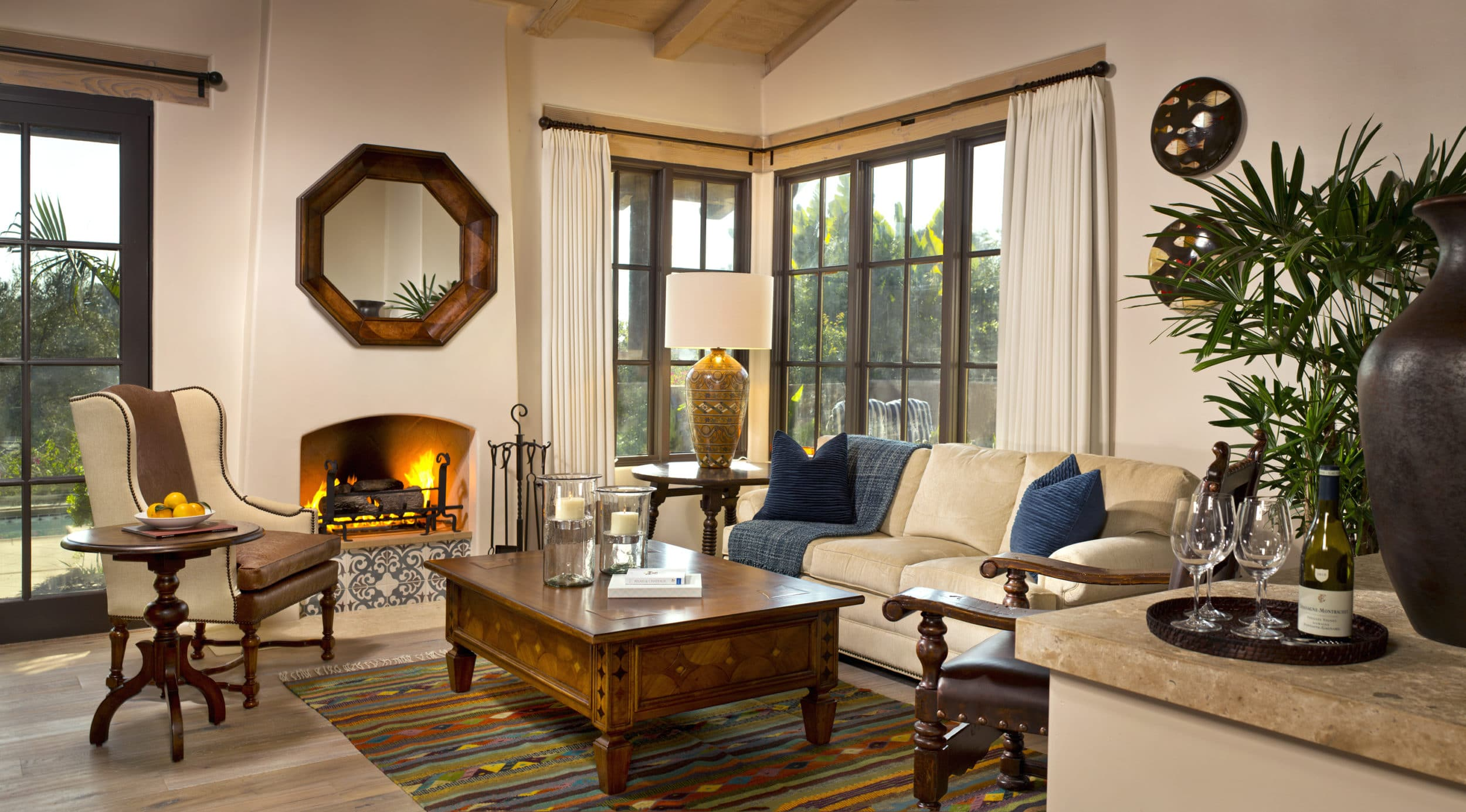 Valencia Suite at Rancho Valencia, a San Diego luxury hotel