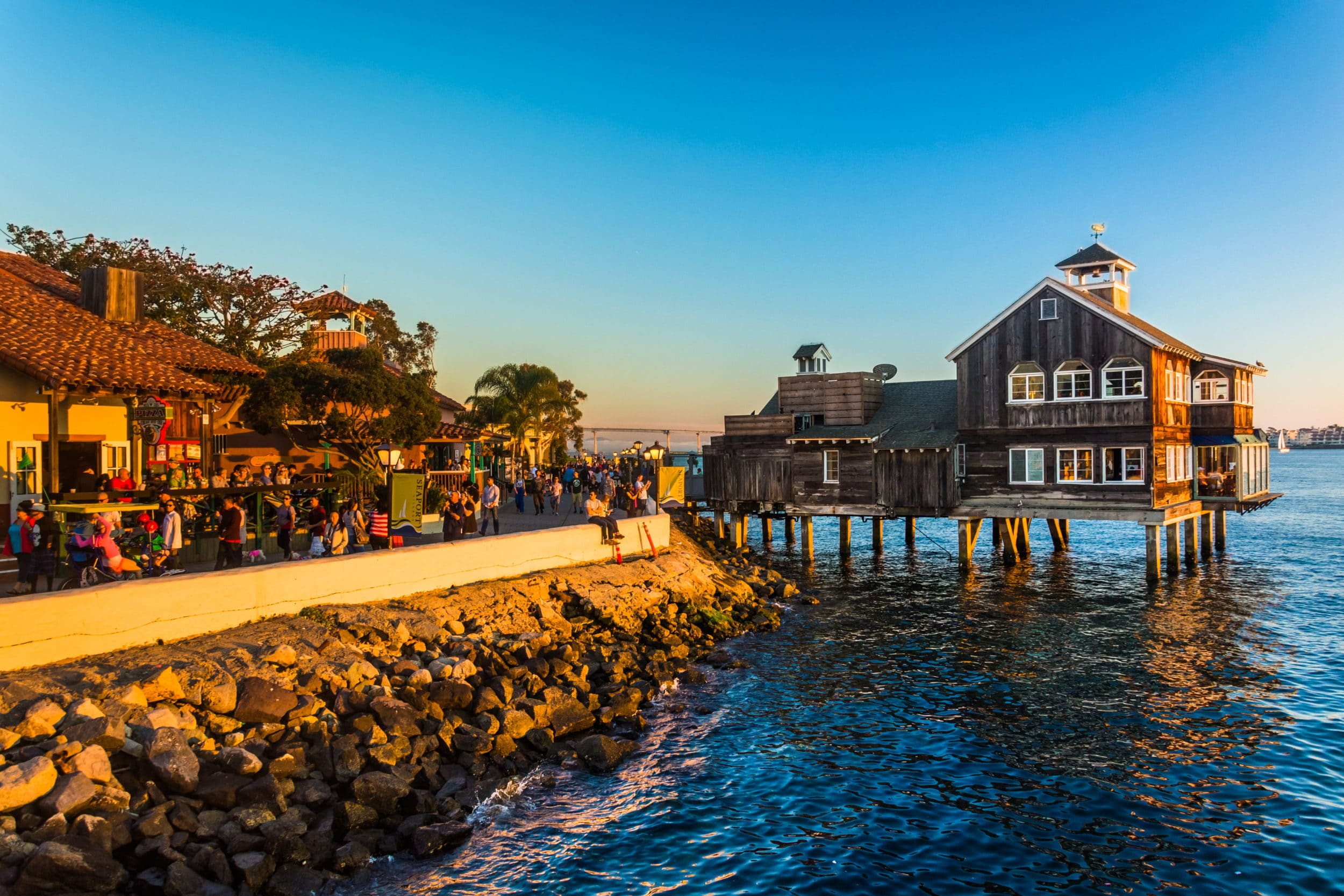 Things to do in San Diego with Kids: Seaport Village