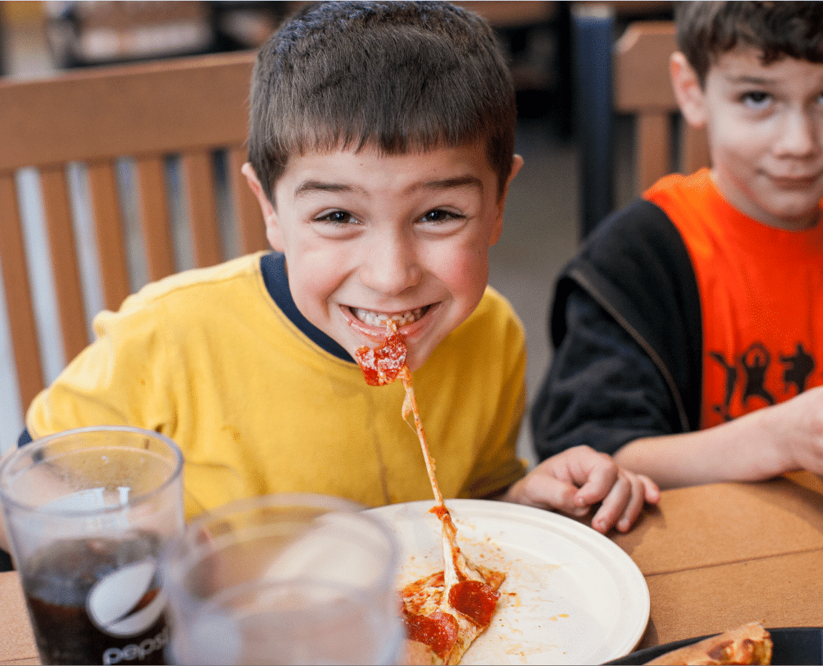 Woodstock's Pizza in Pacific Beach is kid-friendly