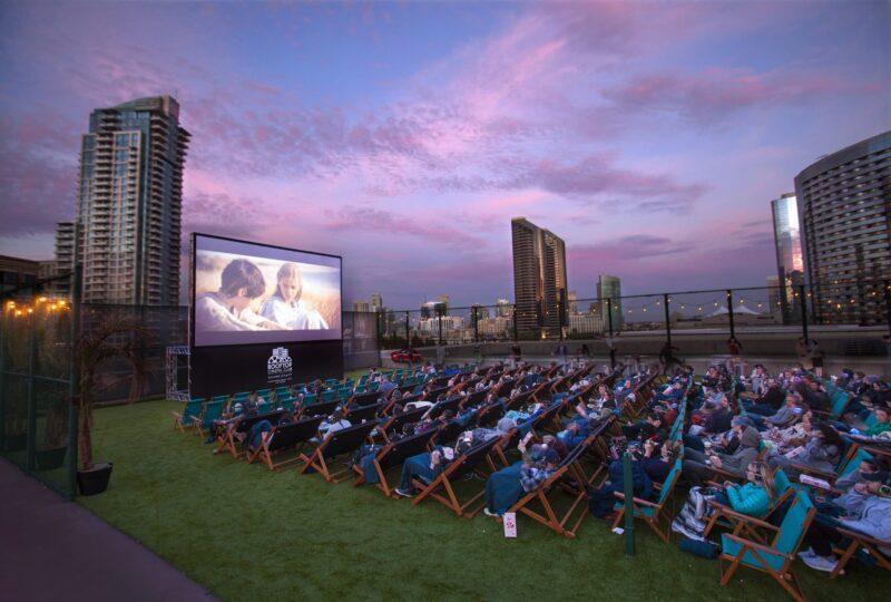 Manchester Grand Hyatt San Diego rooftop cinema