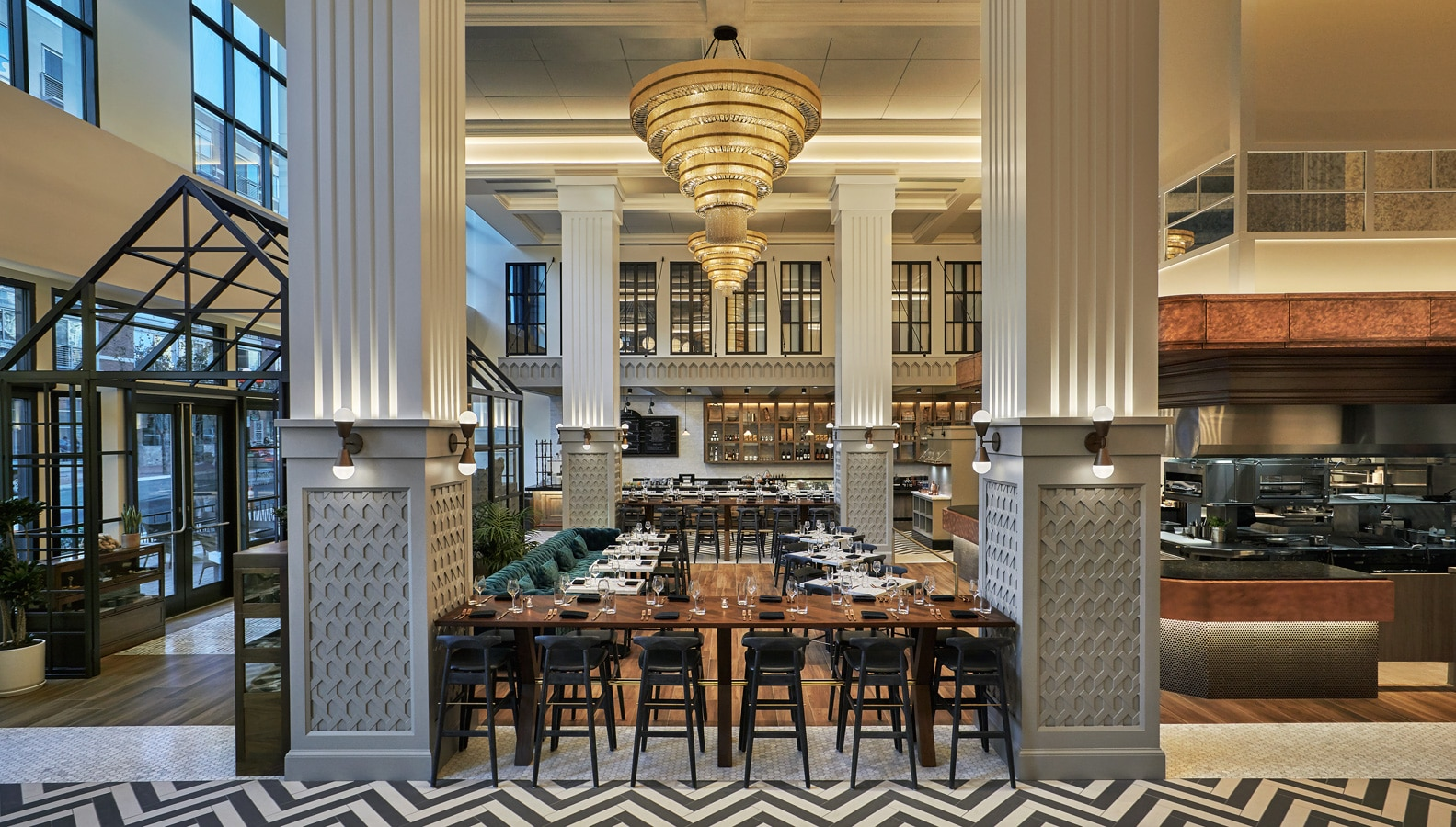 Provisional Kitchen at Pendry San Diego