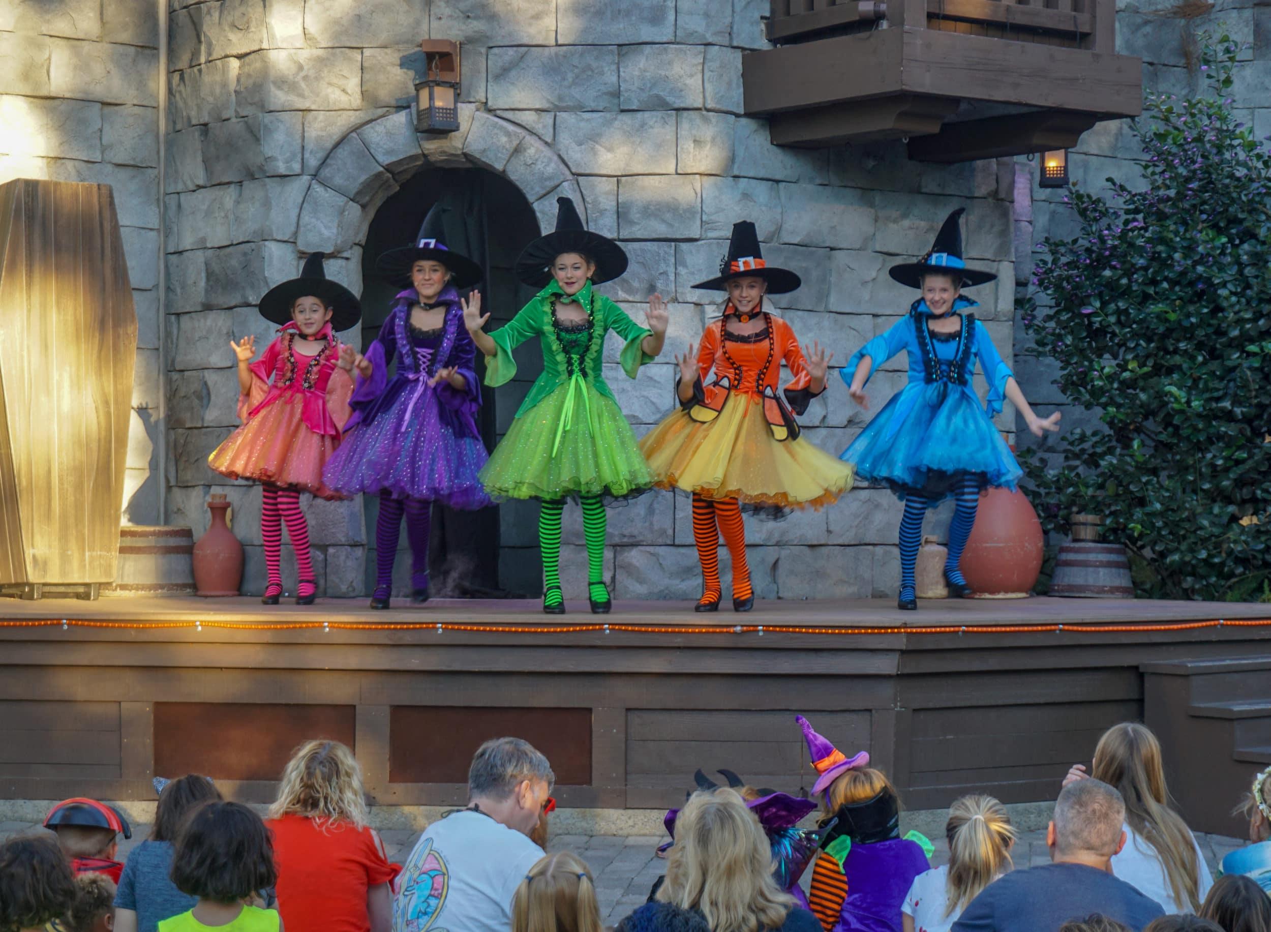 The Witchettes at LEGOLAND Brick-or-Treat