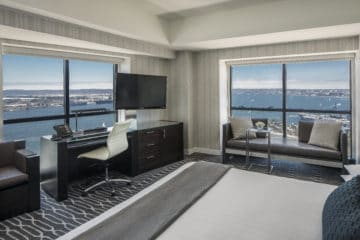 Corner King Room at Manchester Grand Hyatt San Diego