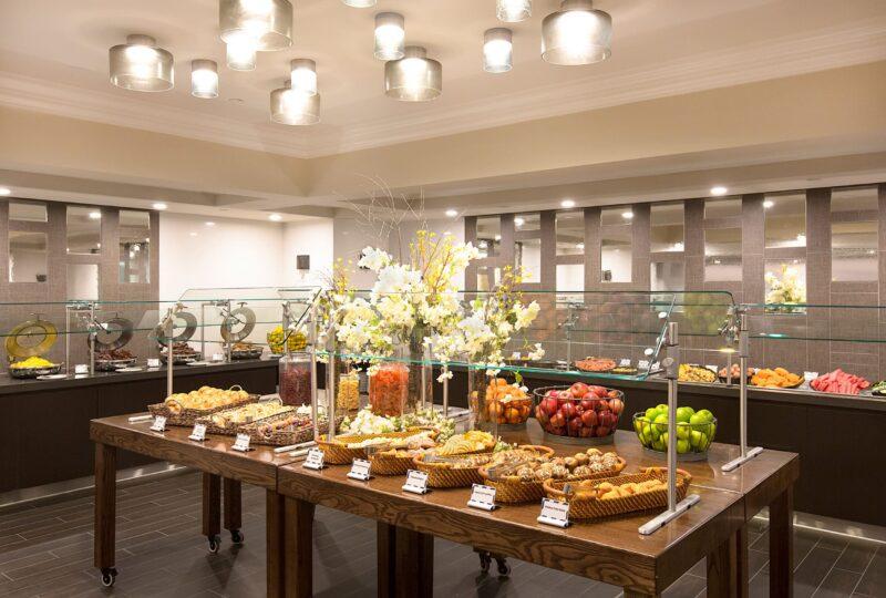 Manchester Grand Hyatt Seaview Breakfast Restaurant buffet