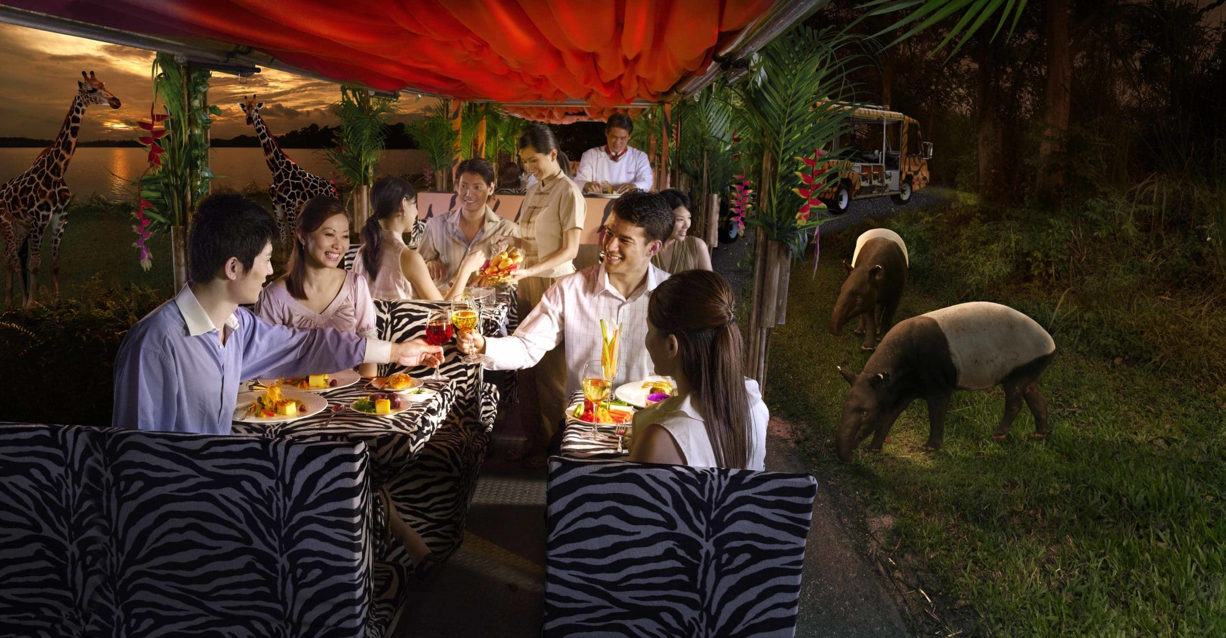 Night Safari Singapore Gourmet Safari