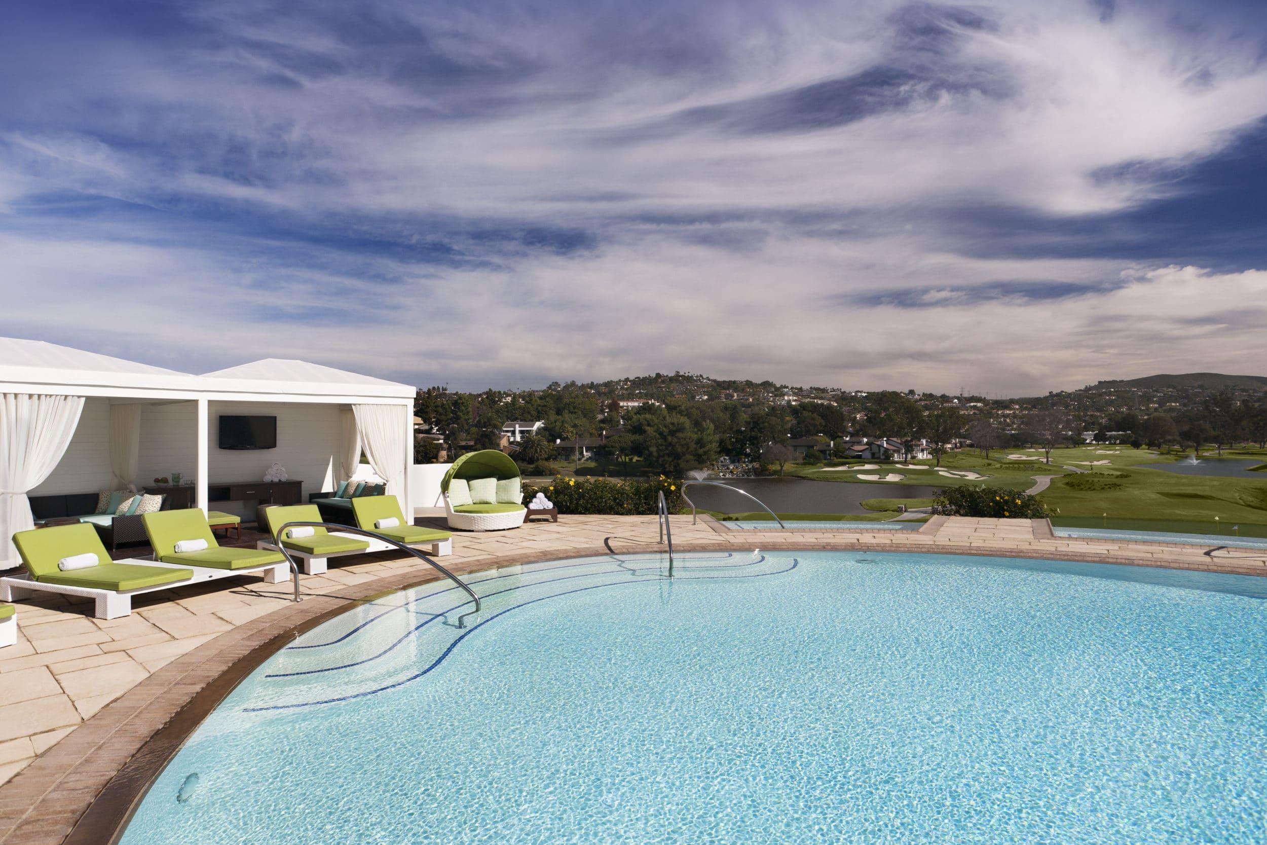 Adults-only Edge Pool at Omni La Costa Resort