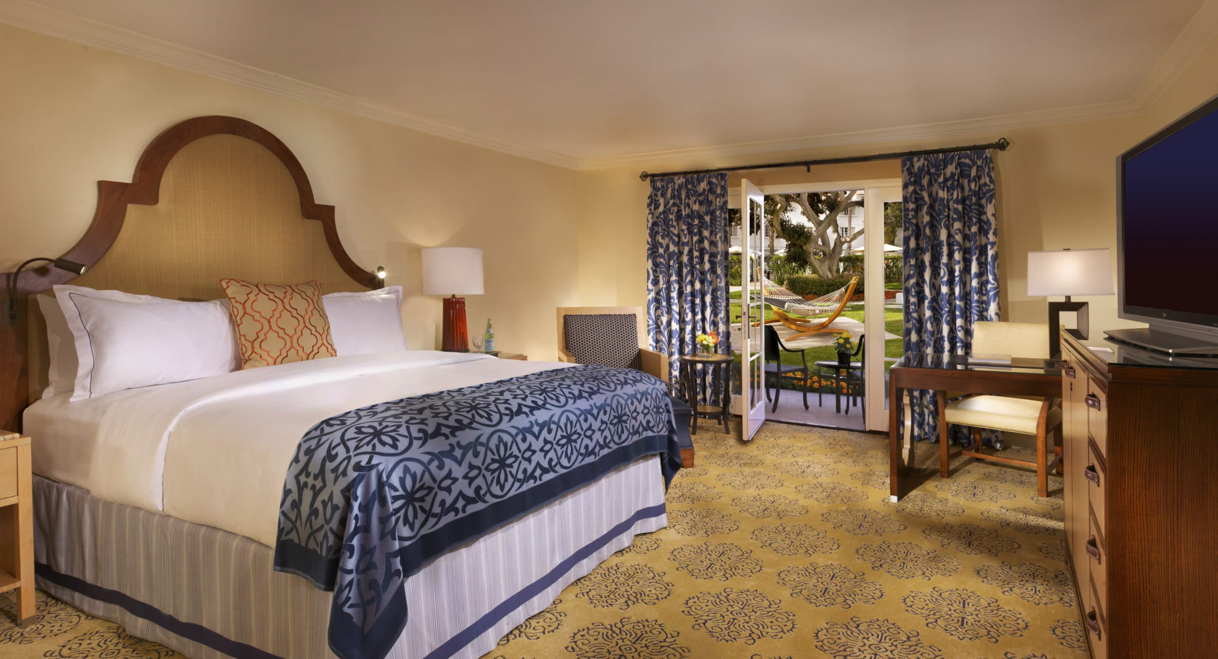 A Plaza Room at Omni La Costa Resort and Spa