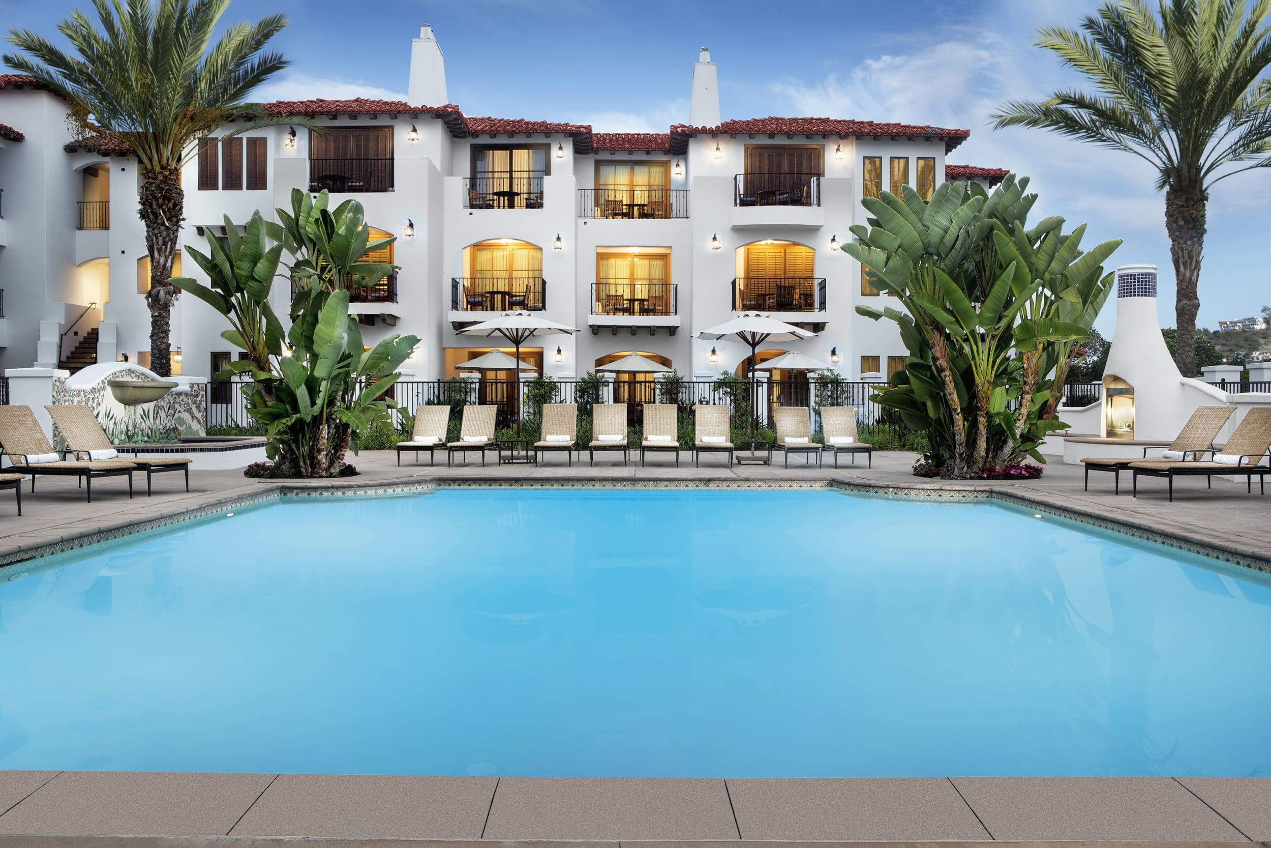 Villa Pool at Omni La Costa Resort and Spa