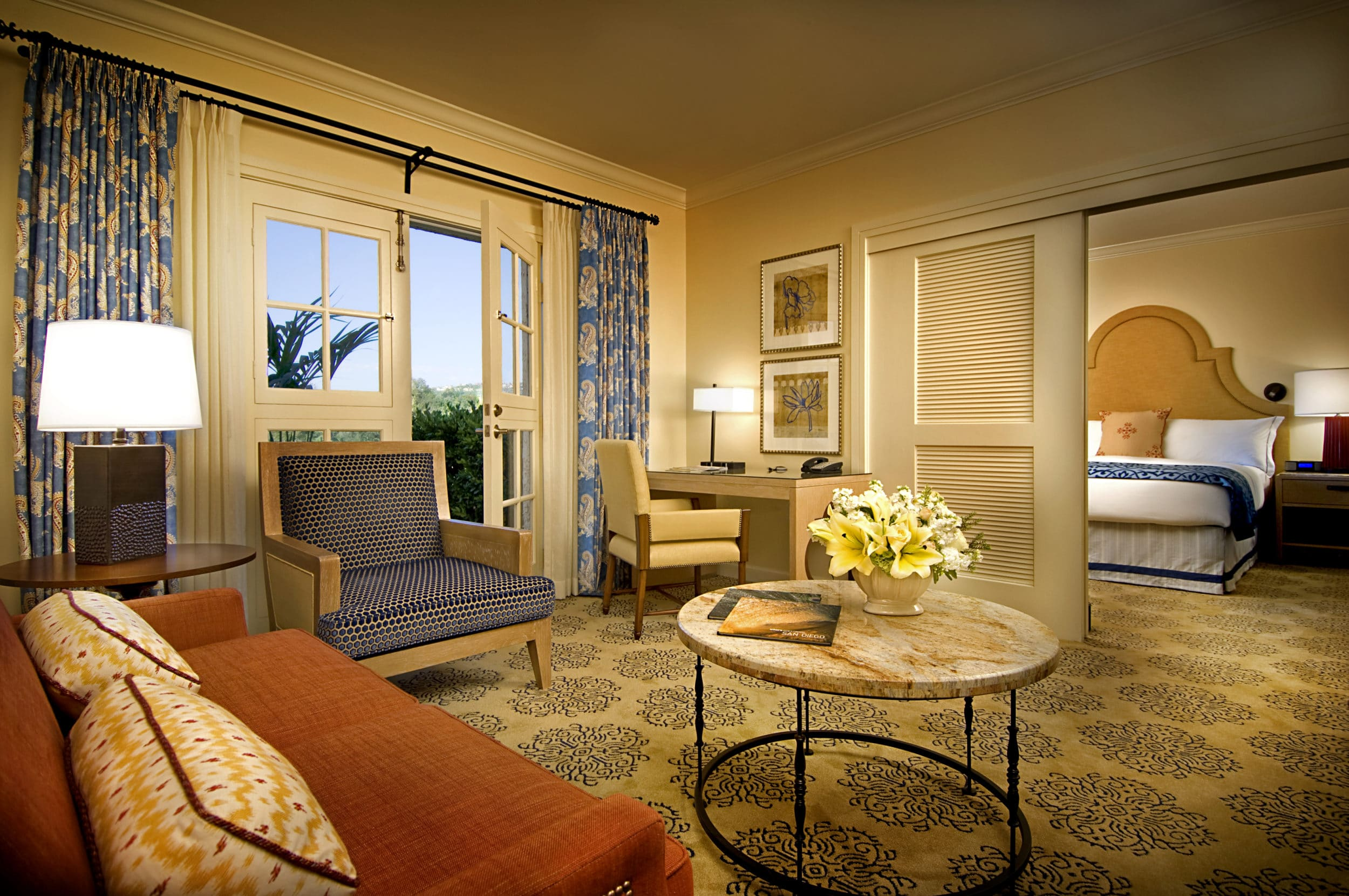 La Costa Suite at Omni La Costa Resort and Spa is popular with families