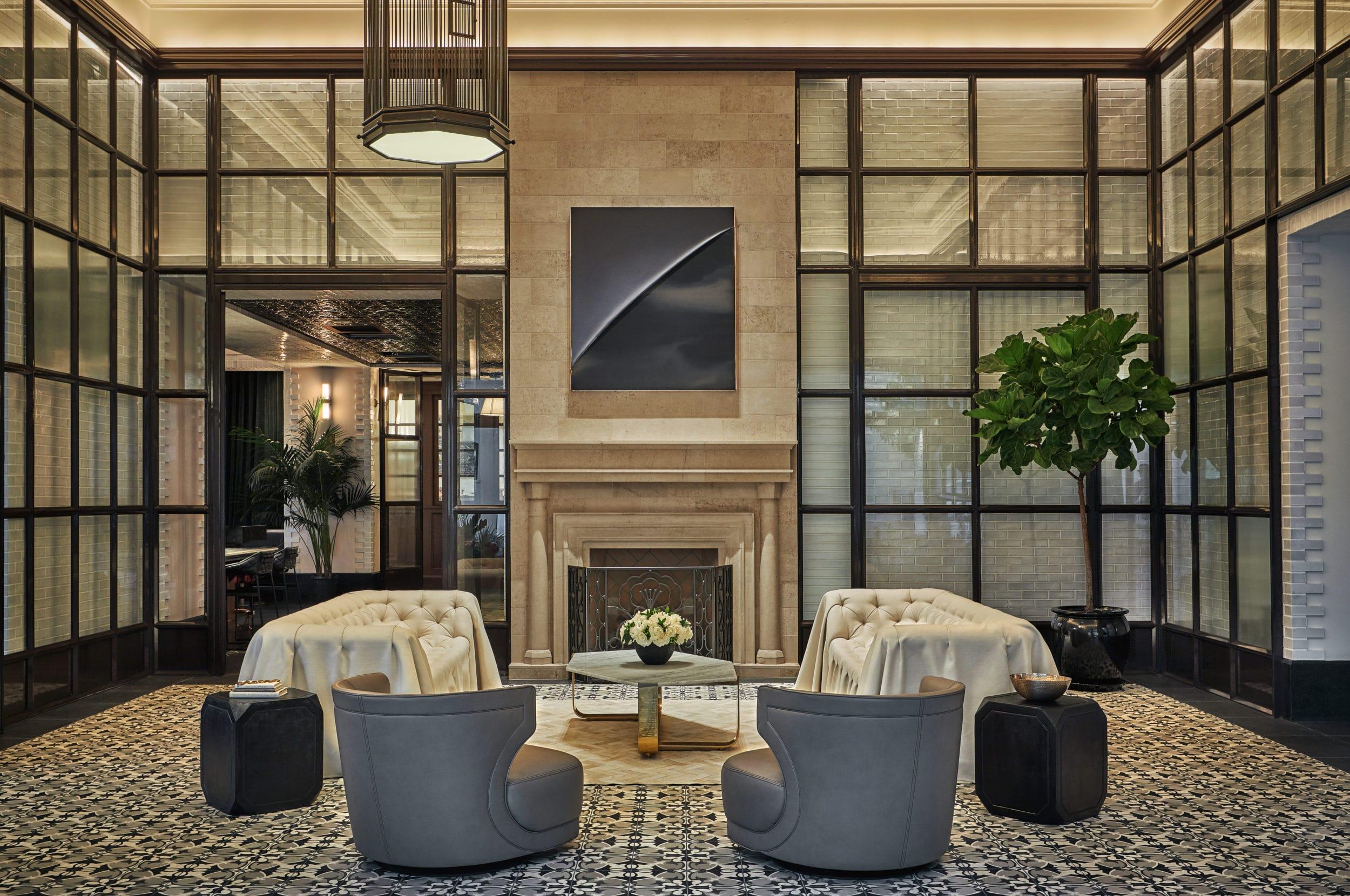 Pendry San Diego Hotel Lobby