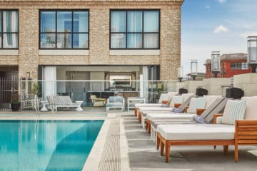 Pendry San Diego hotel pool in downtown